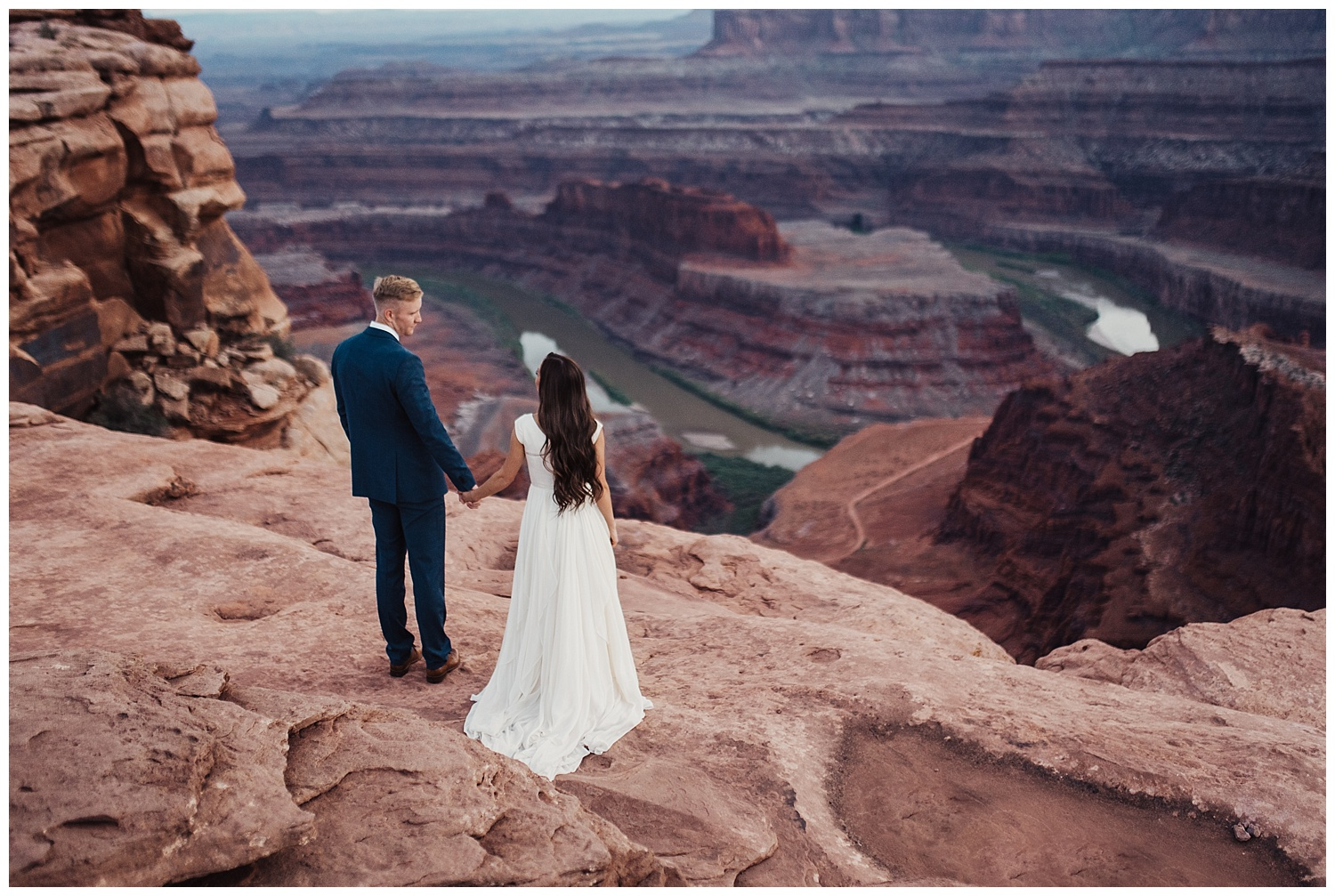 bridals at dead horse point moab