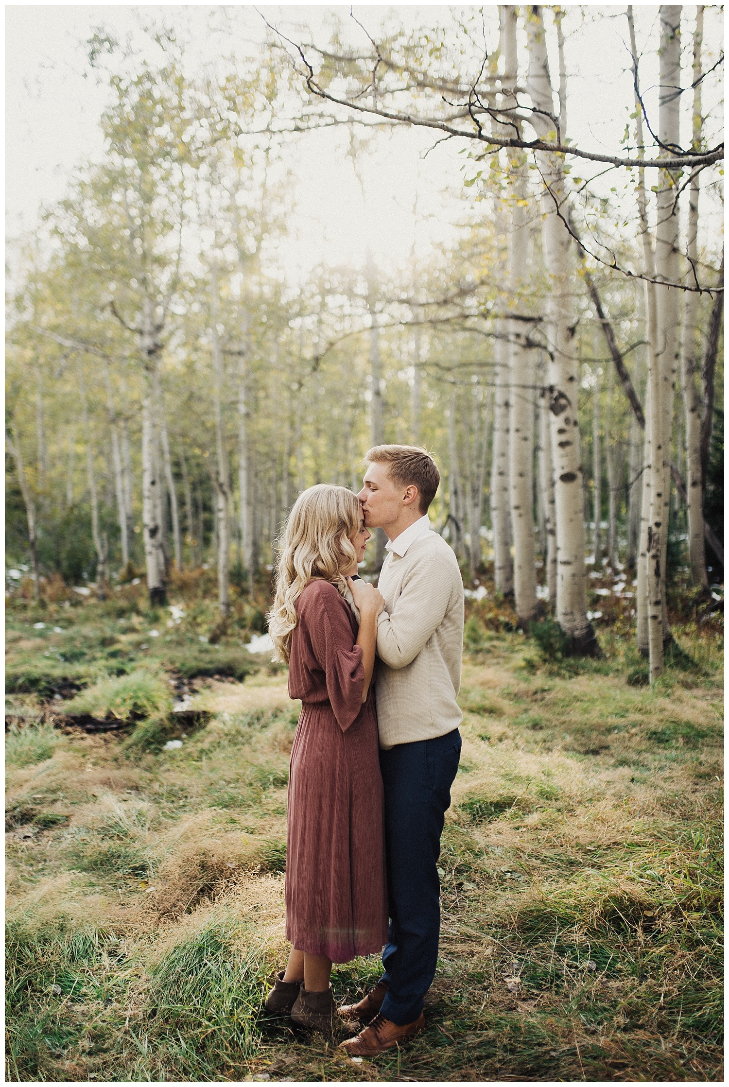 Fall Engagements up Little Cottonwood Canyon