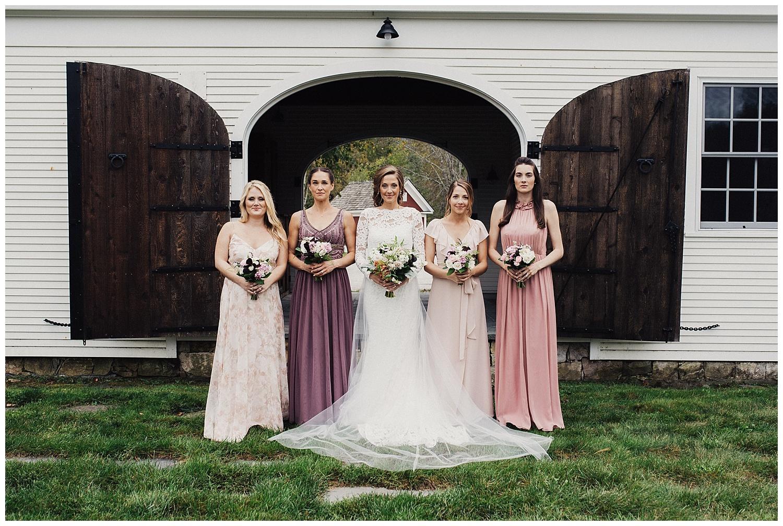 fall wedding at riverside farm