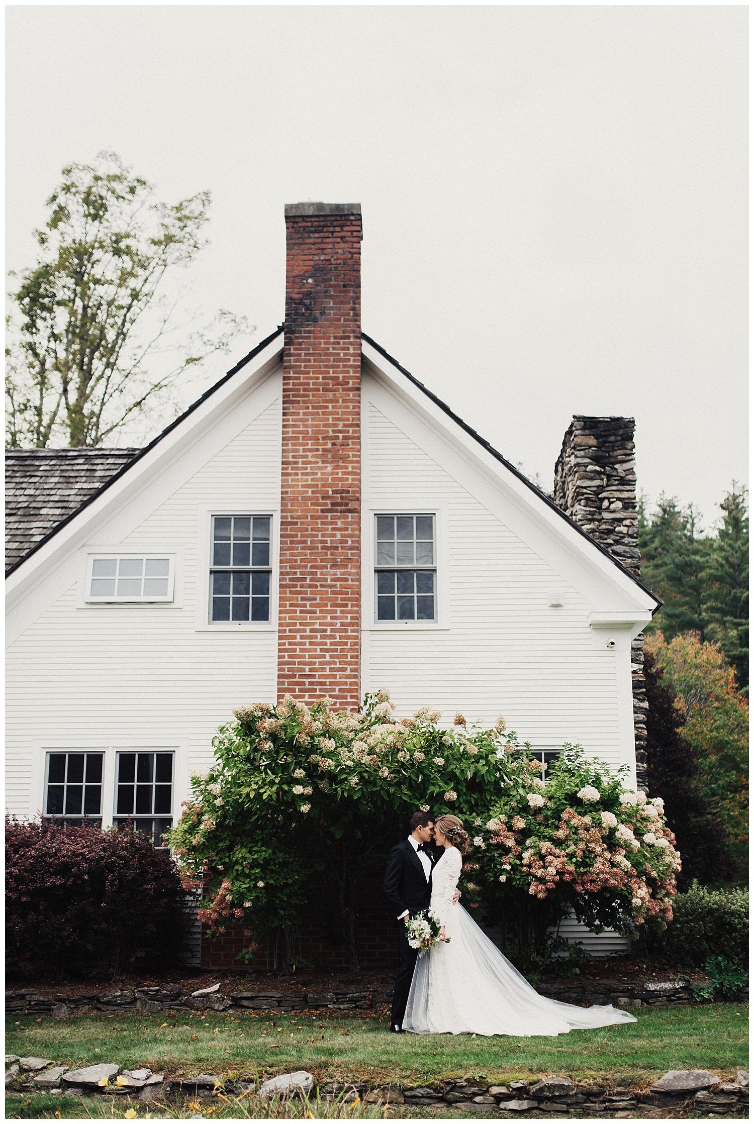 Eden Strader Fall Wedding at Riverside Farms Pittsfield Vermont