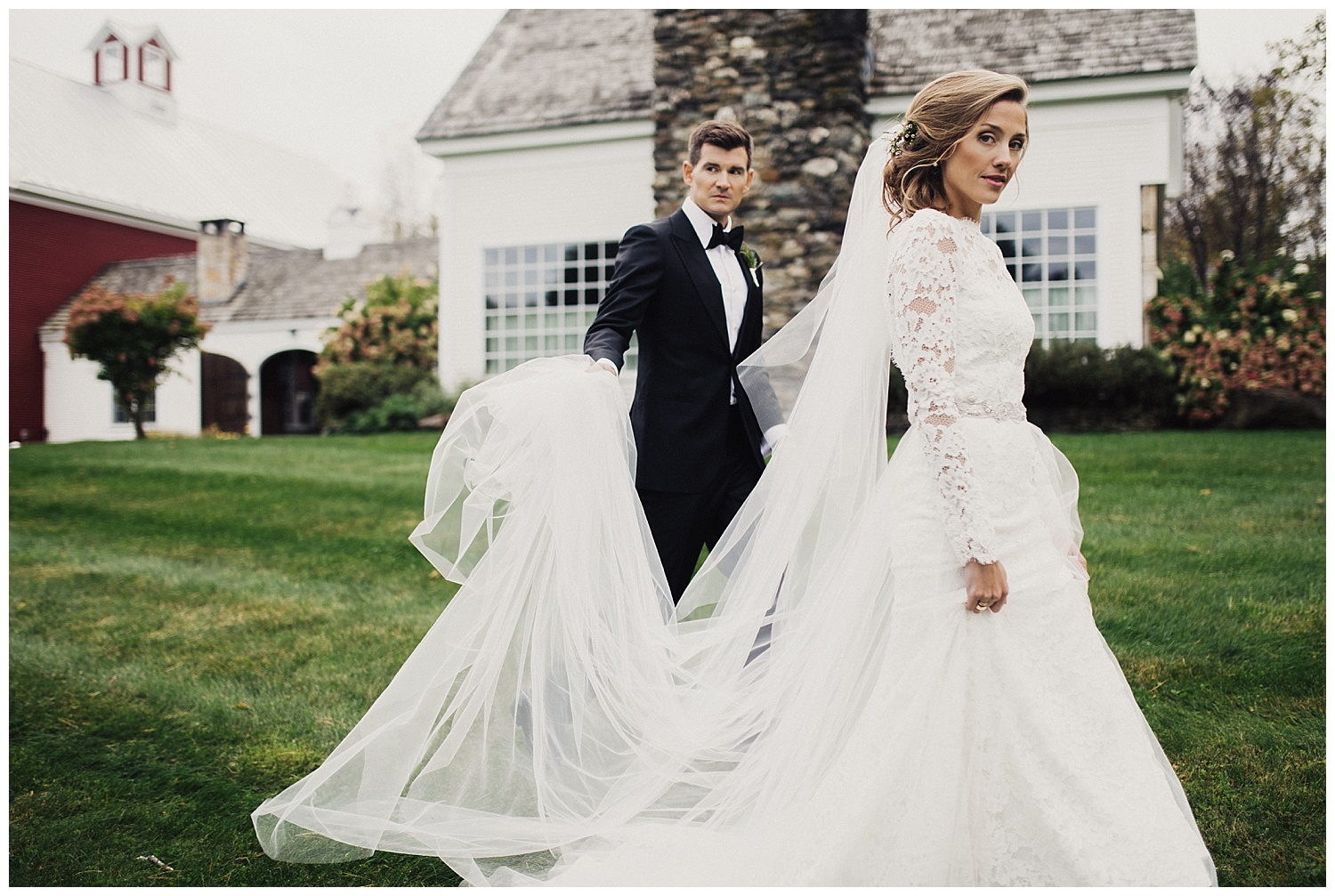 Fall Wedding at Riverside Farm in Pittsfield Vermont