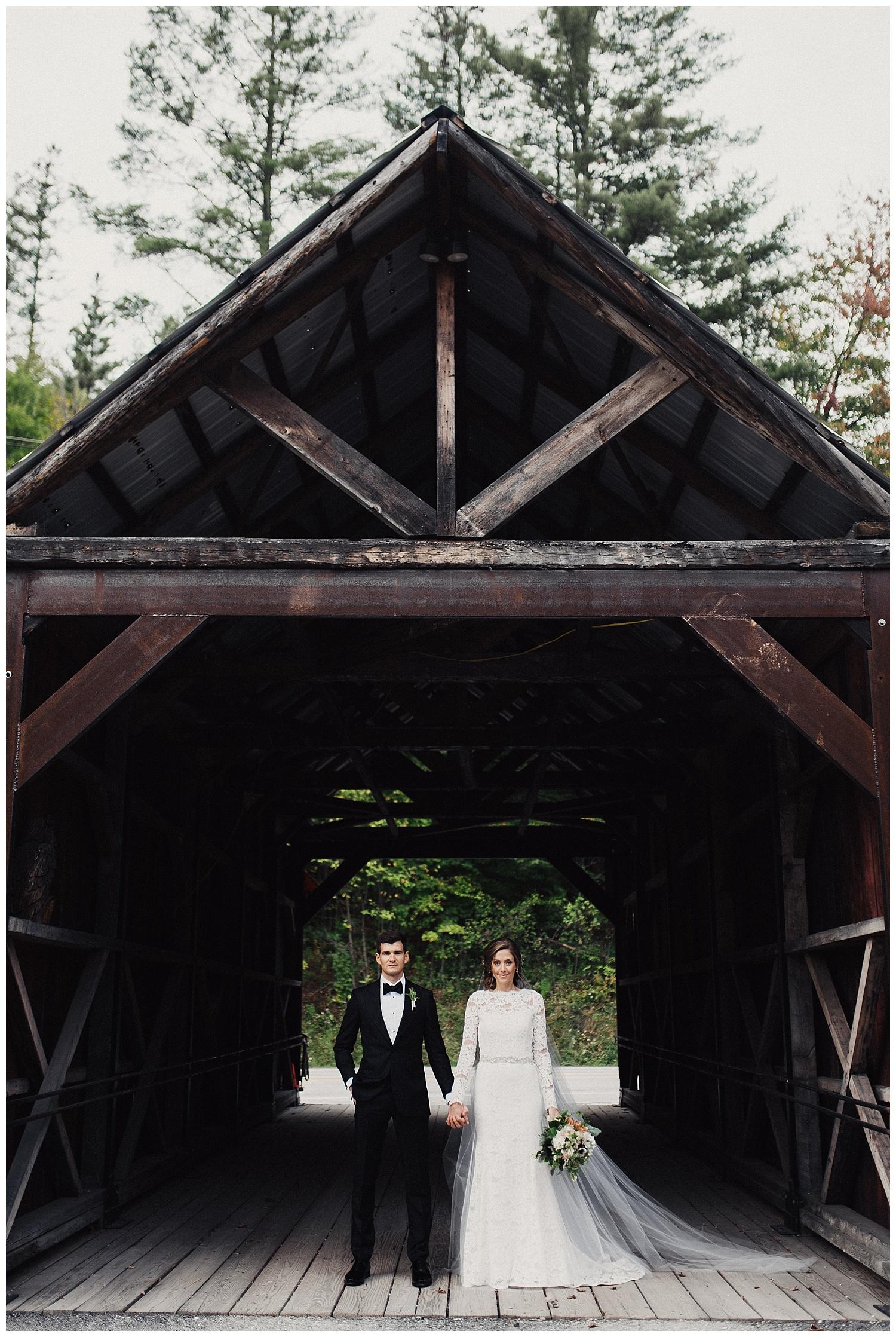 Bride and Groom Portraits Riverside Farms