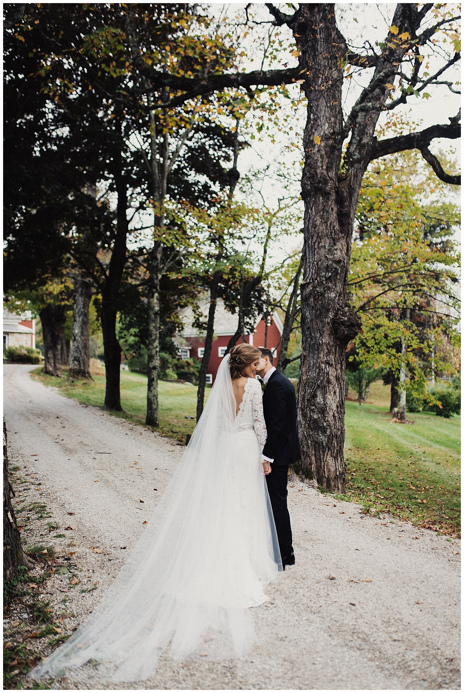Fall wedding in Vermont