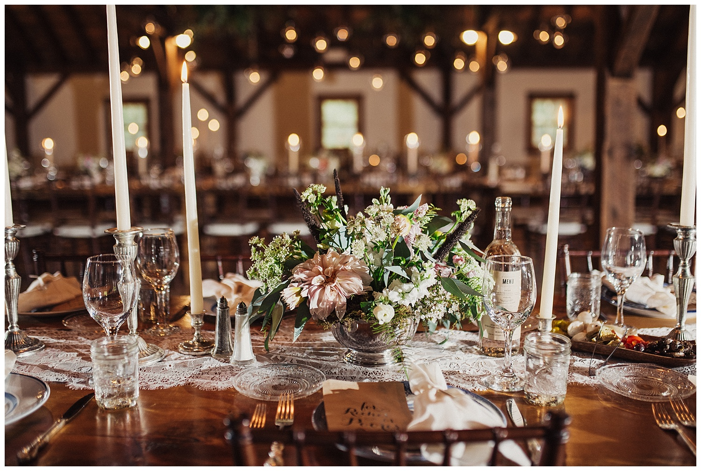 wedding reception at riverside farm