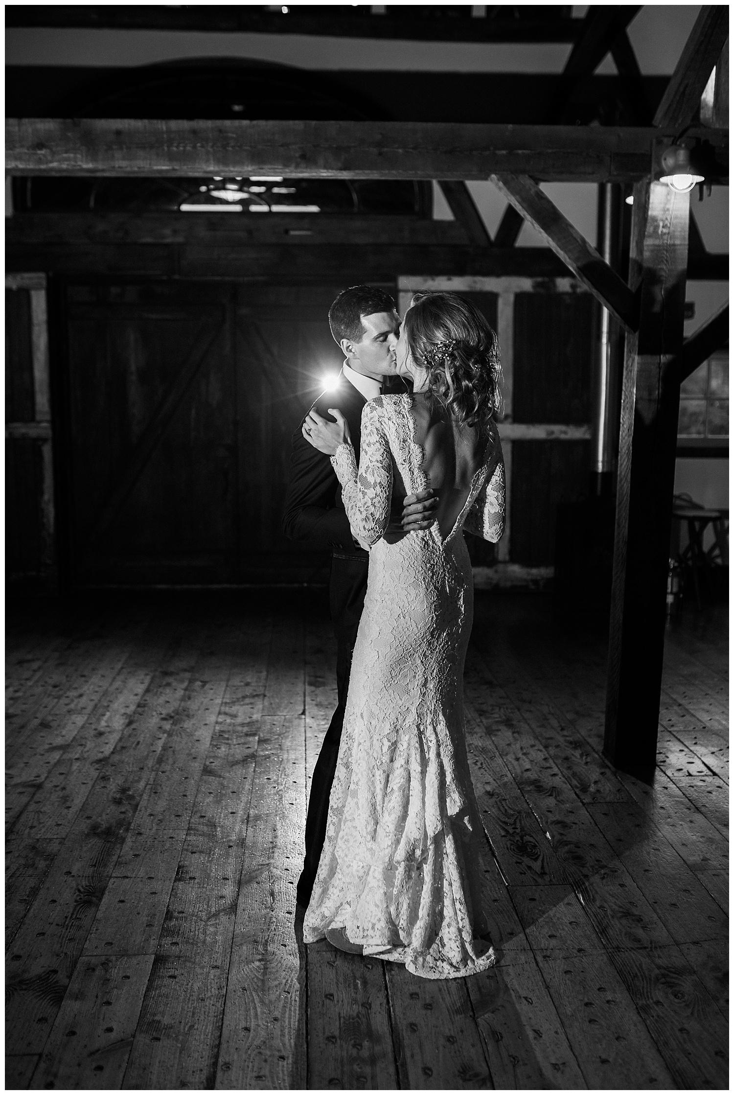 First dance wedding photo