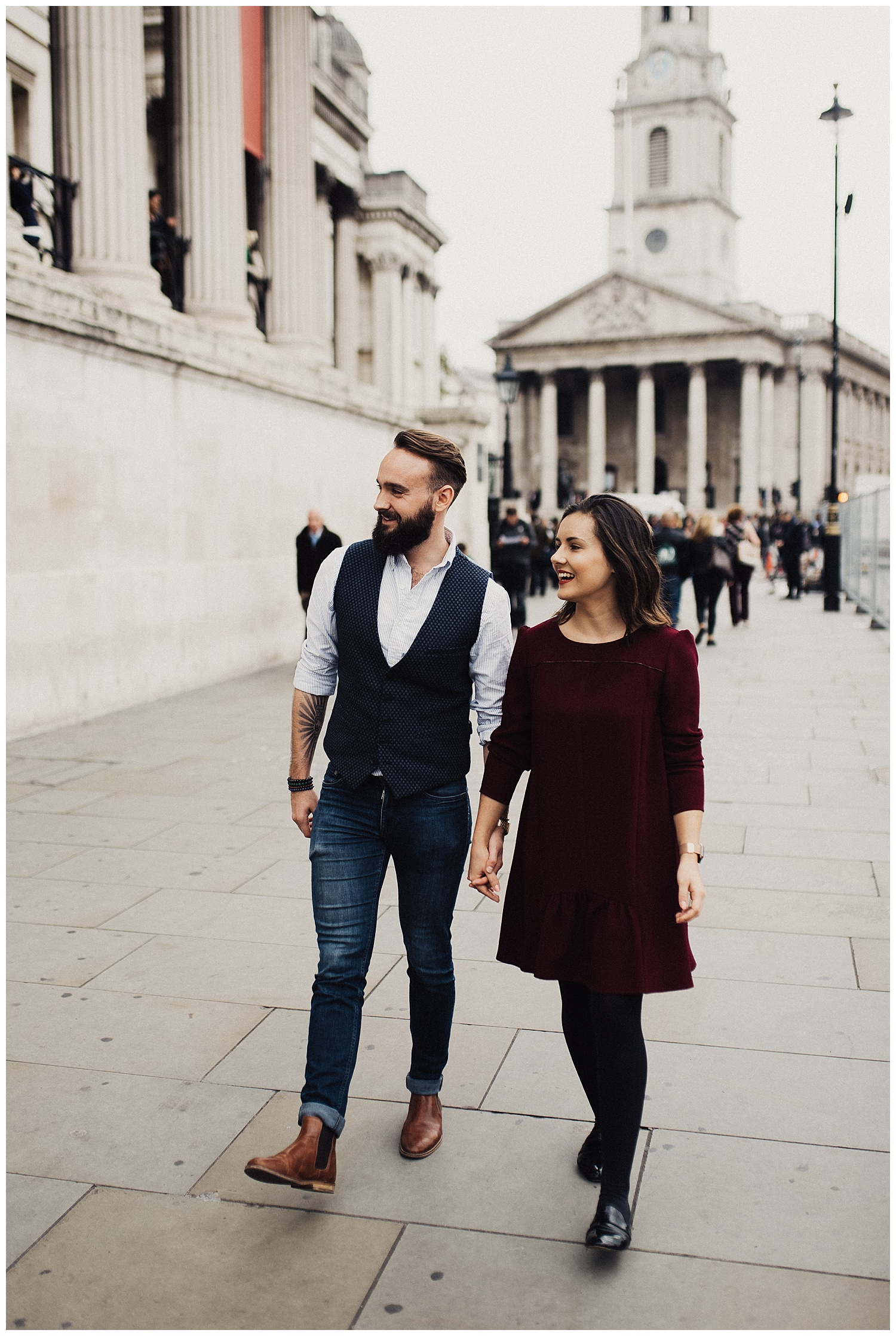 Downtown London Couples Session