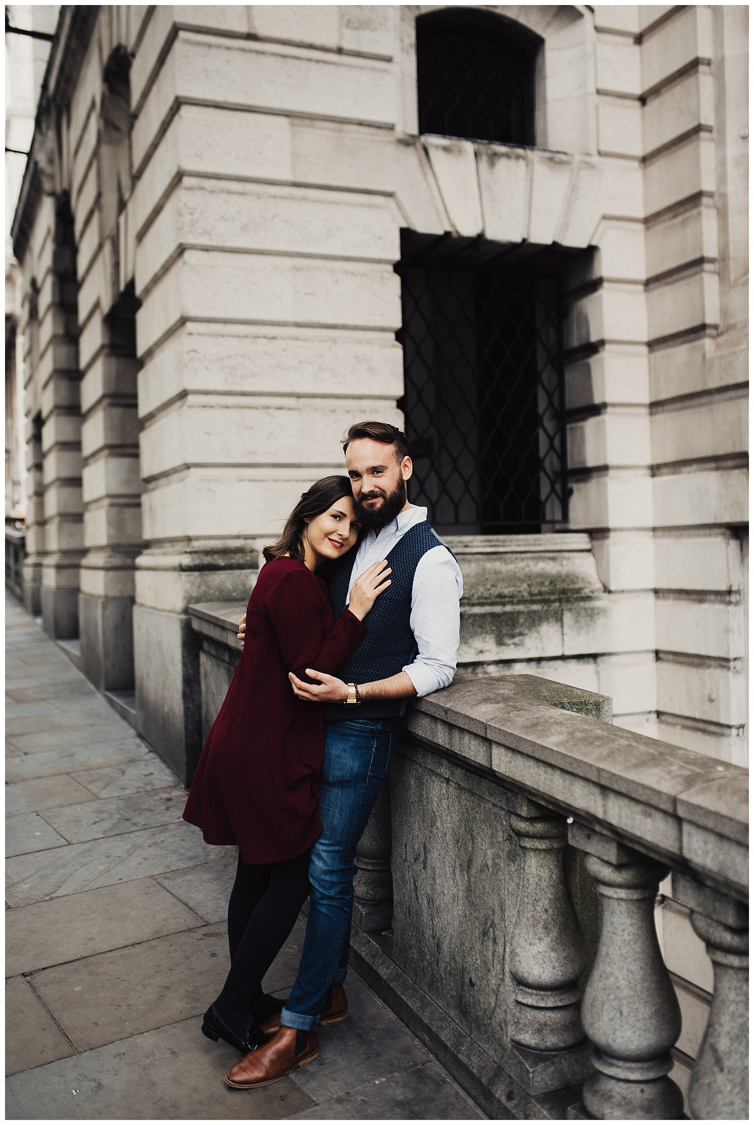 London England Engagement Session
