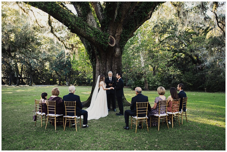 wedding ceremony at eden state park