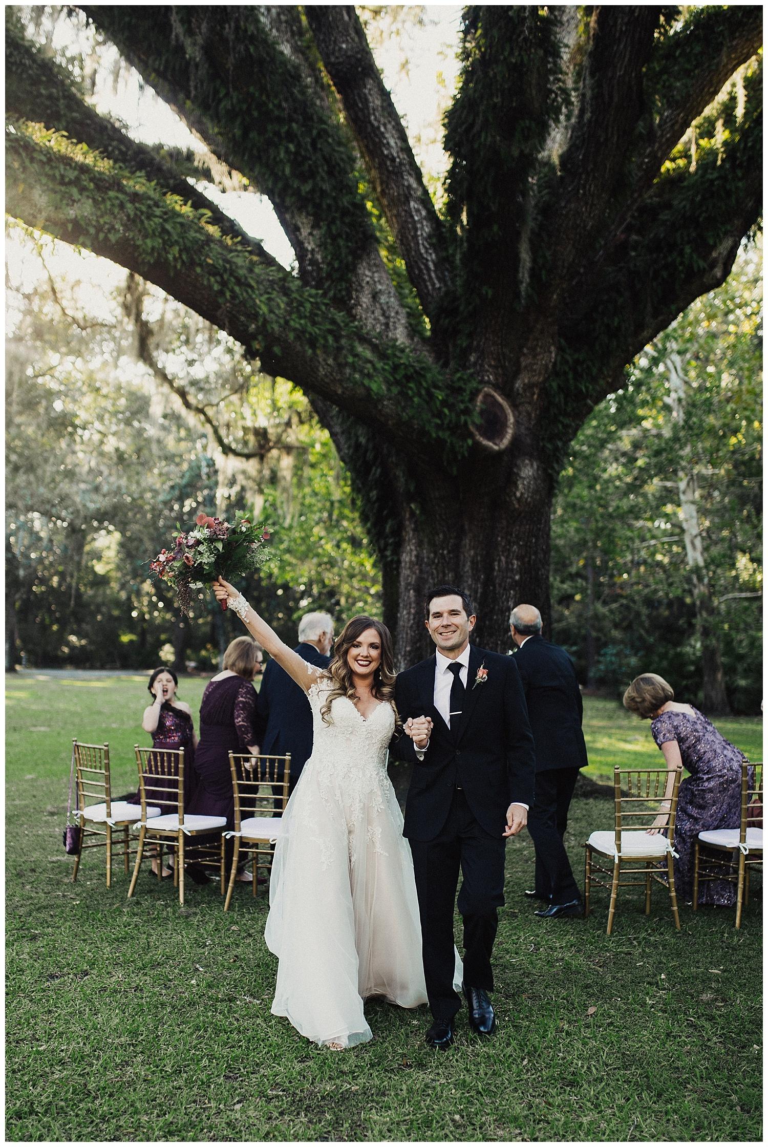 Eden State Park Florida Wedding