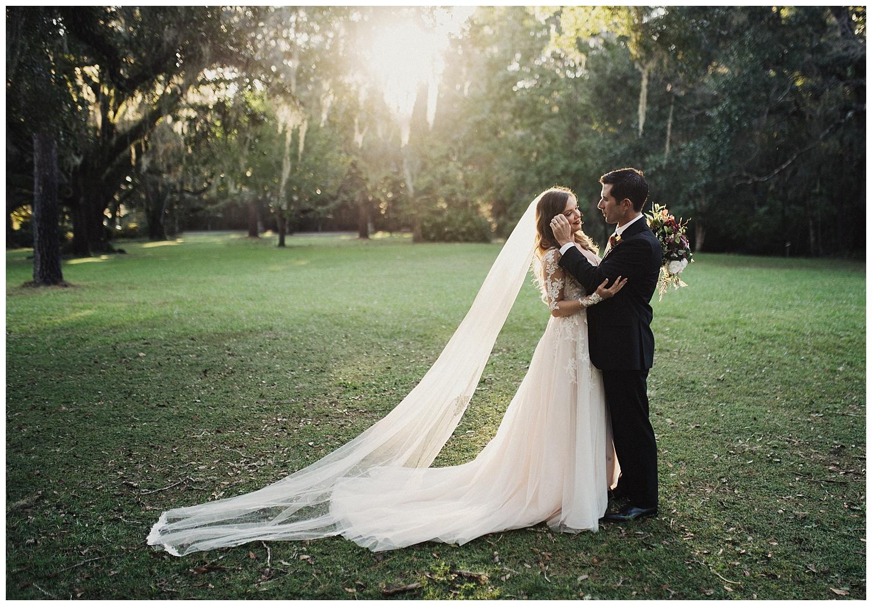 Eden state park wedding portraits