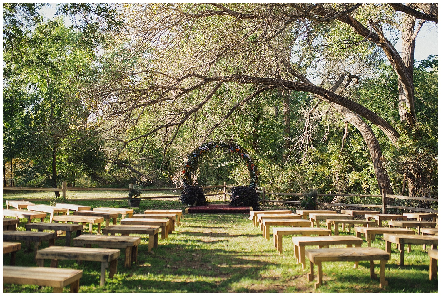 Eden Strader Backyard Wedding
