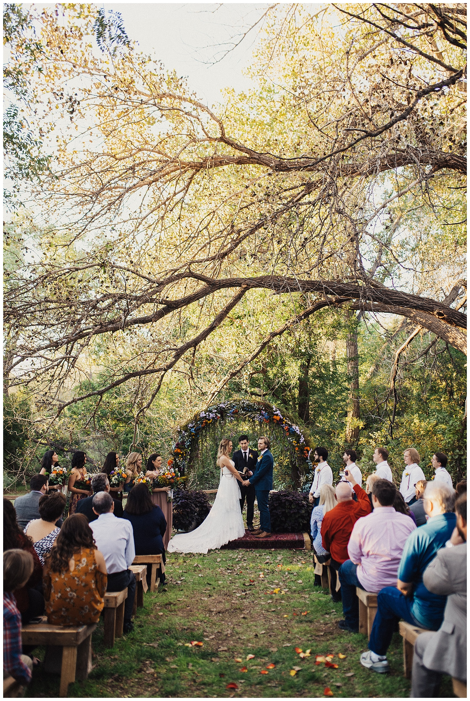 Backyard Wedding in Amarillo Texas