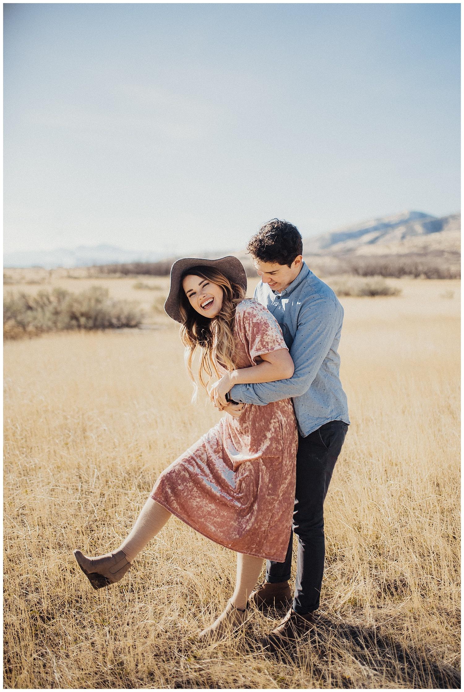 Couples Session in Alpine Utah