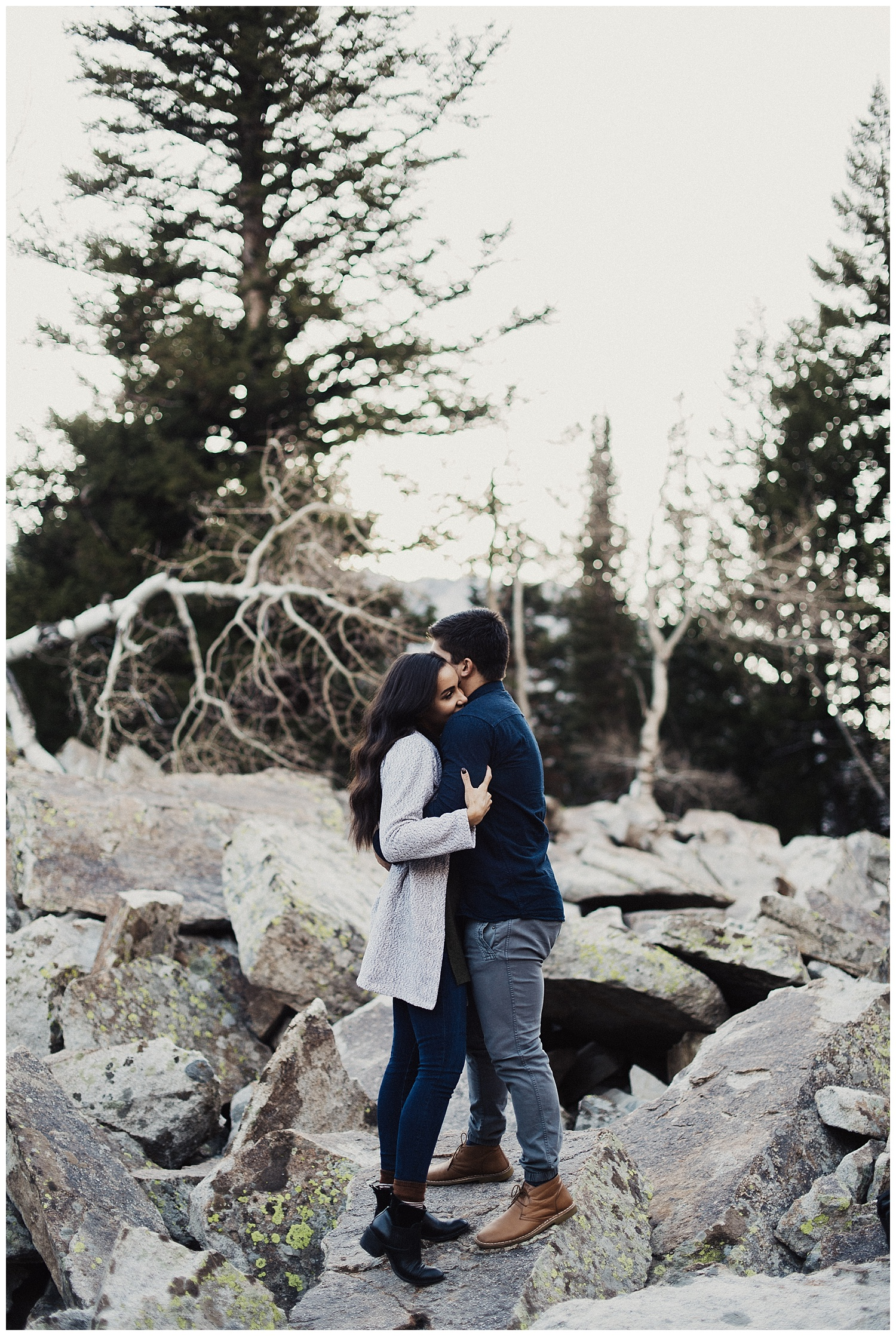 Little Cottonwood Canyon Couples Session