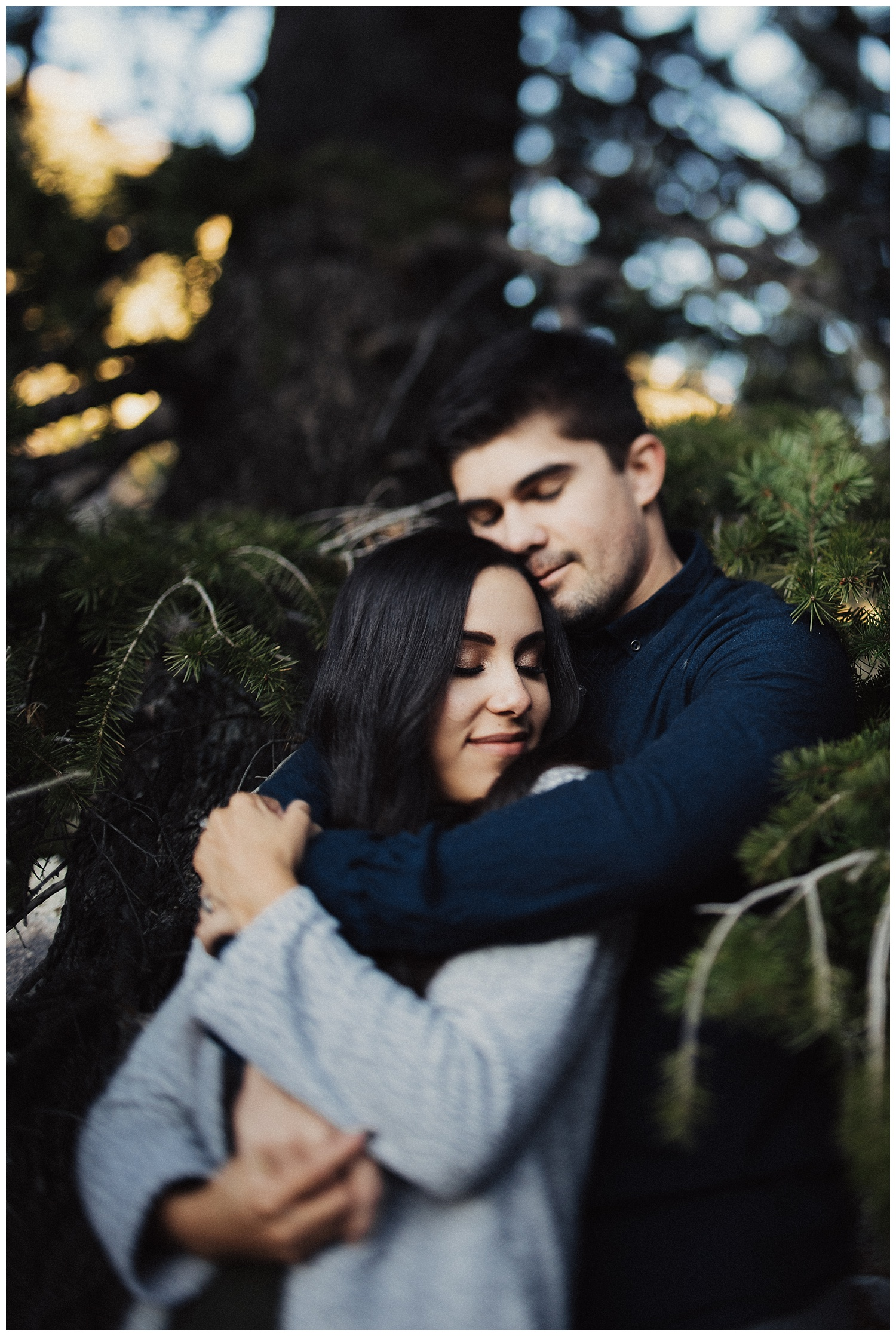 Couples Session up Little Cottonwood Canyon