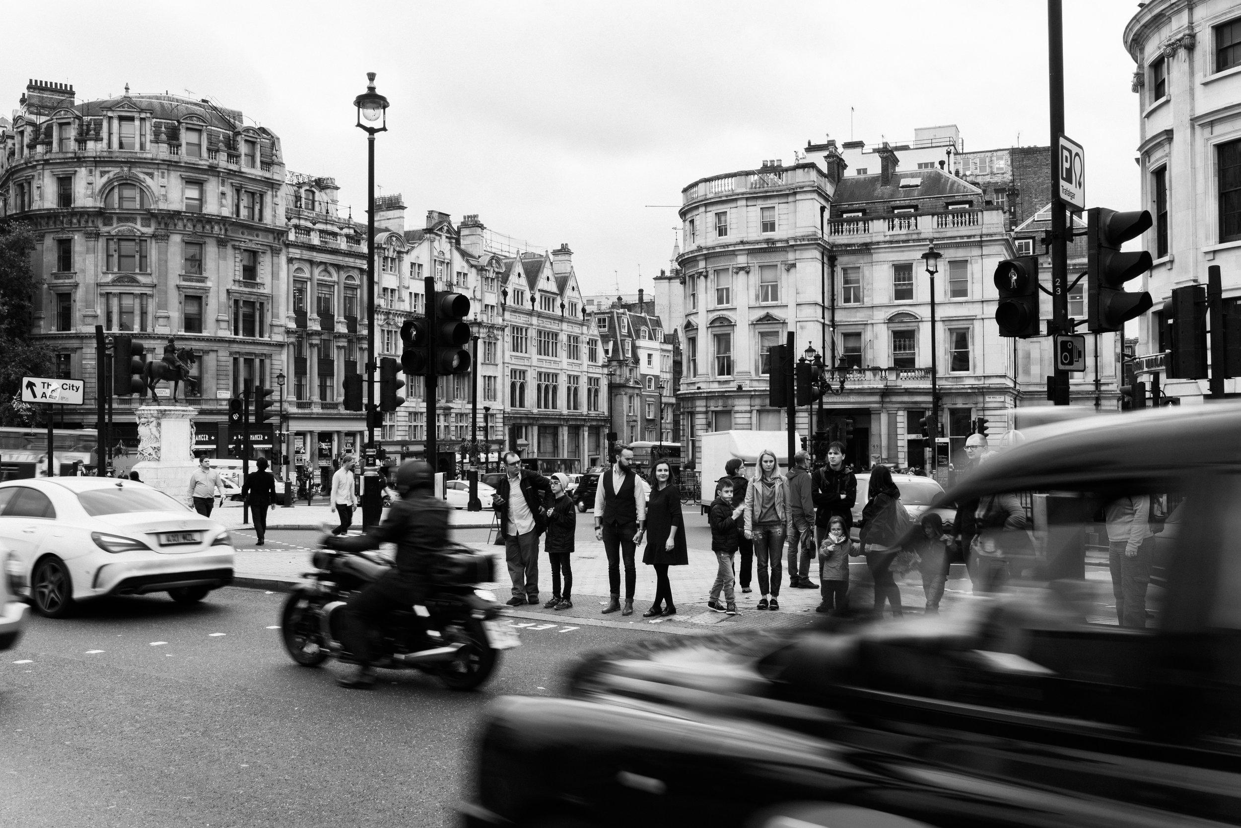 Trafalgar Square London Couples Session
