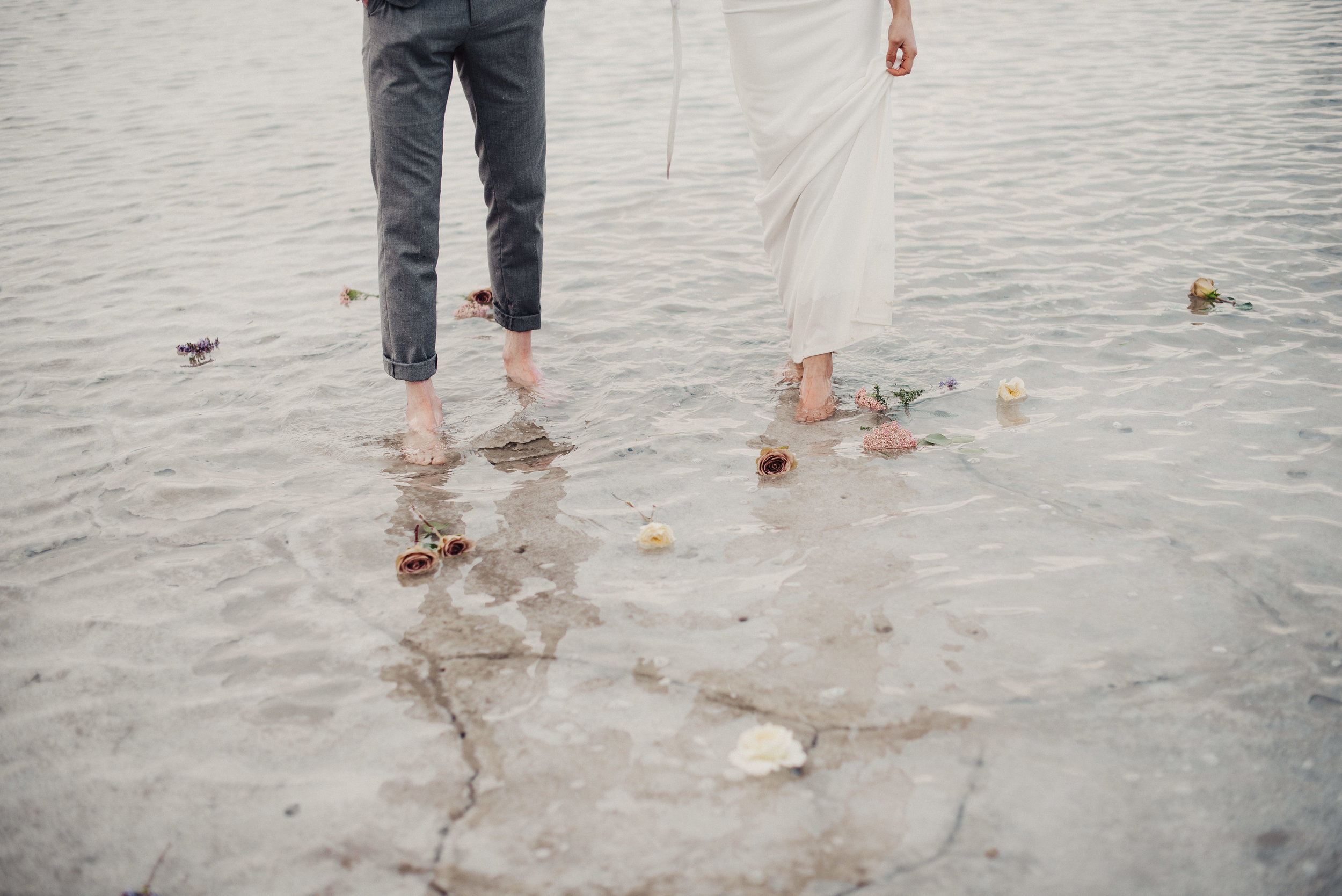 Bonneville Salt Flats Bridal Session
