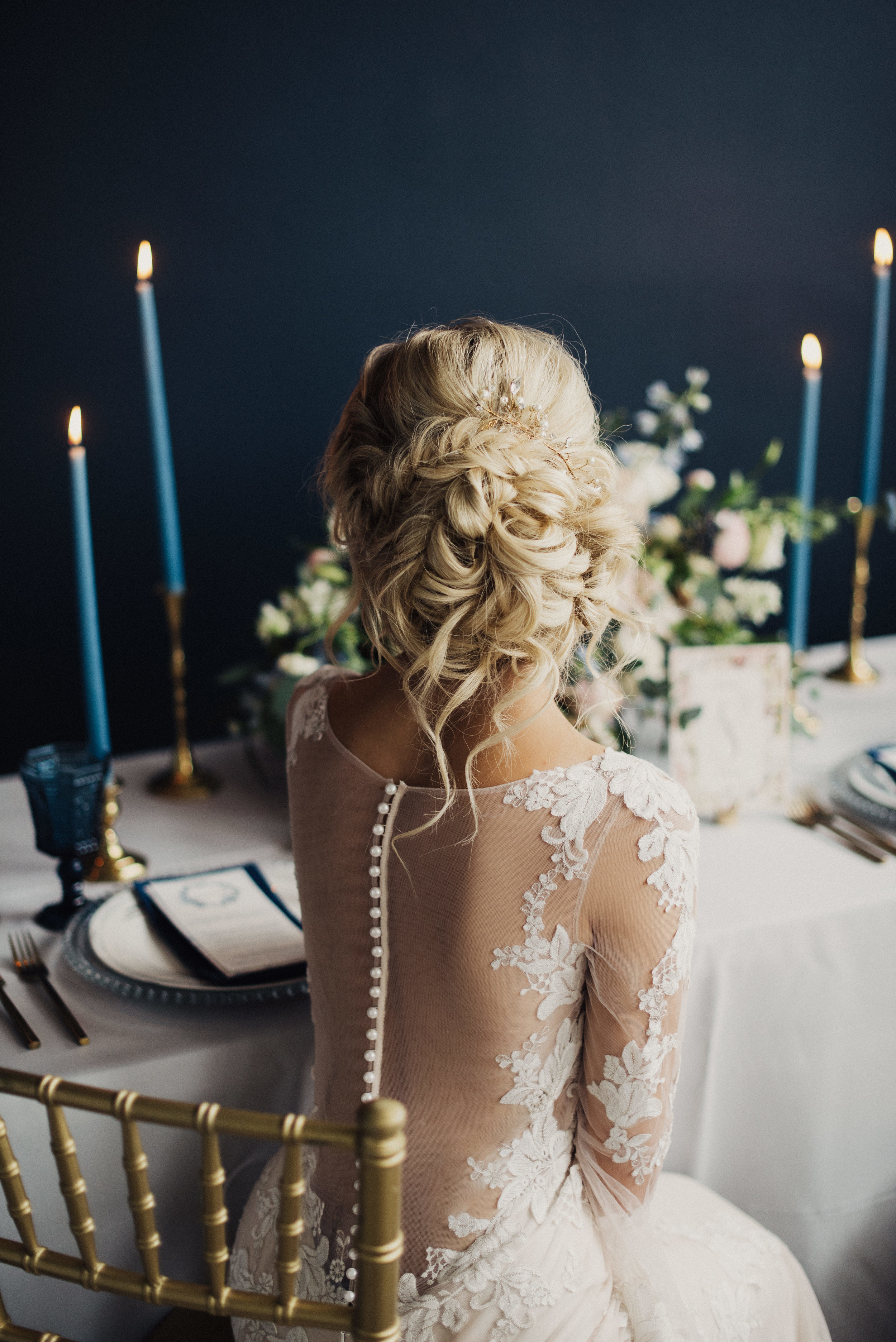 Bridal Updo Wedding inspiration
