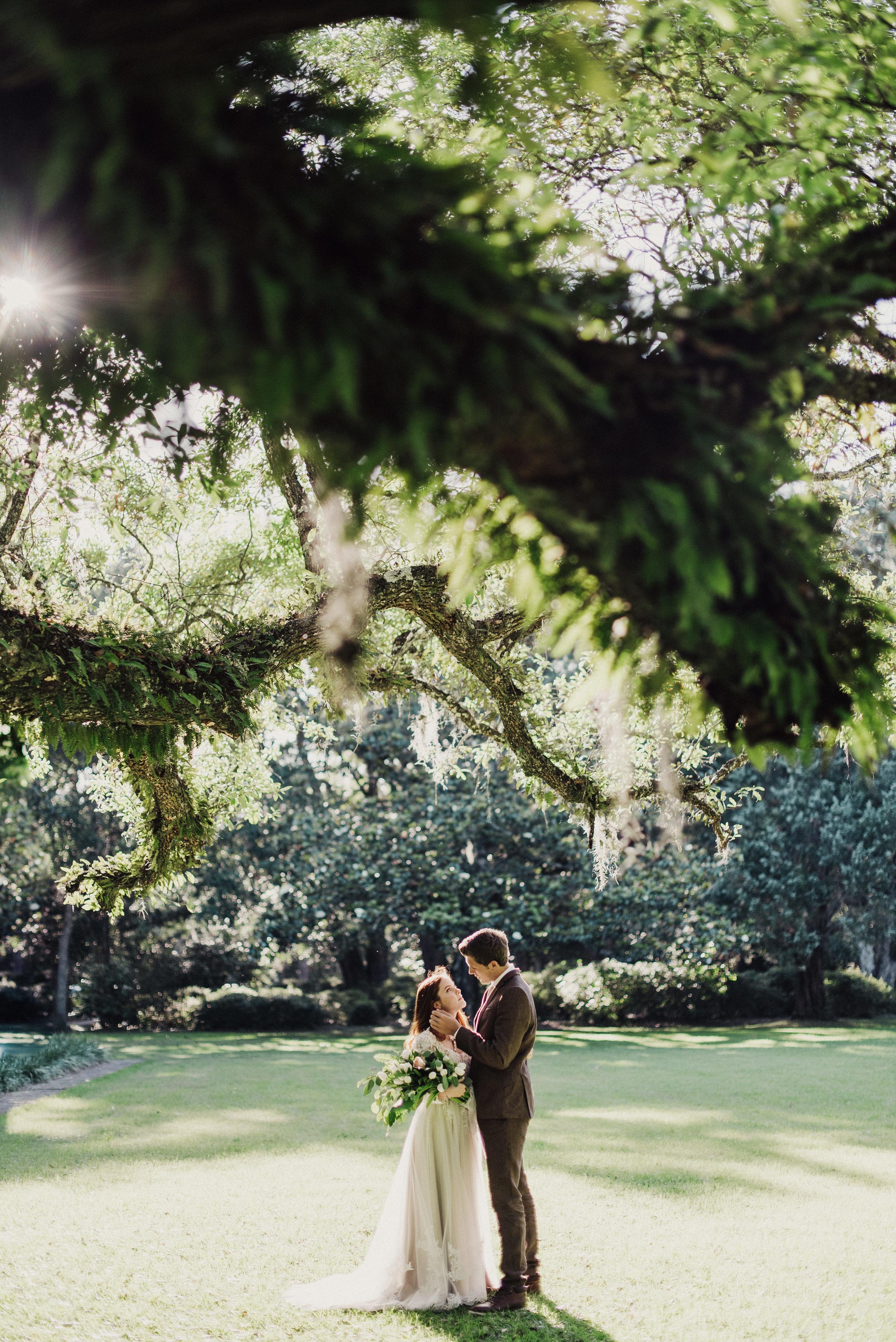 Florida Eden State Park Wedding