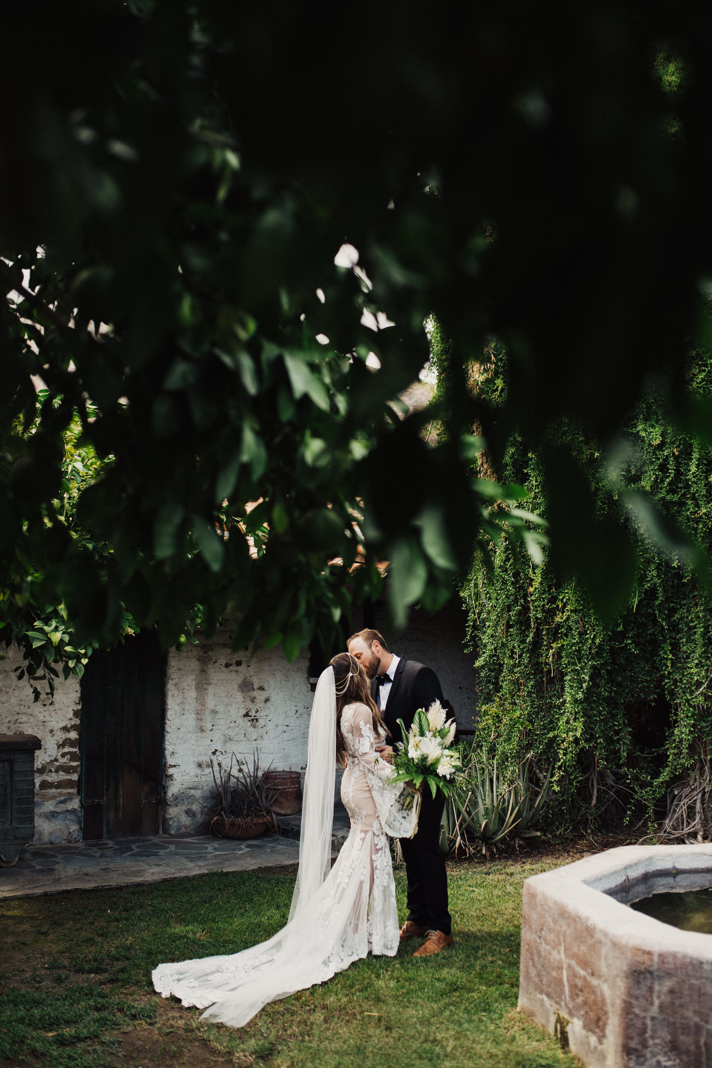 Palm Springs Bell Sleeve Wedding Dress