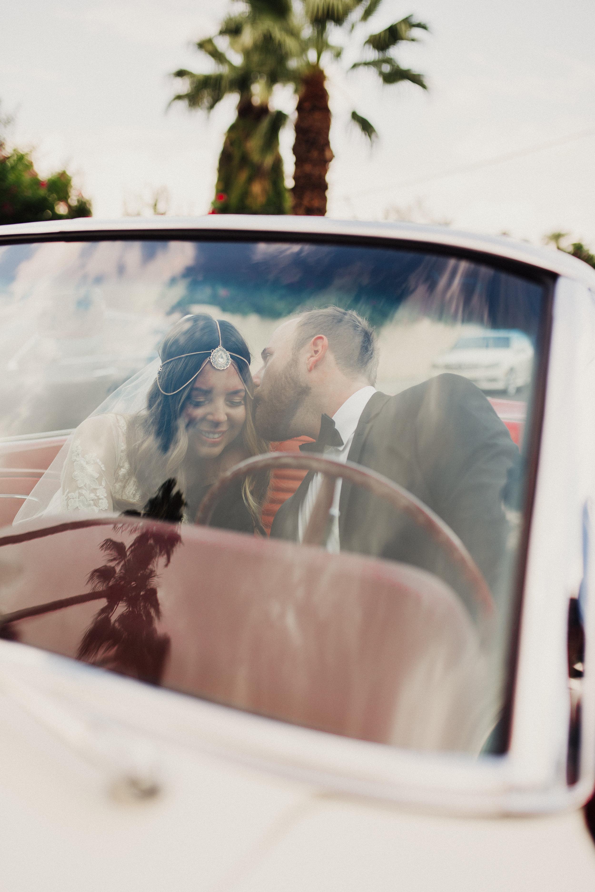 Palm Springs Boho Wedding