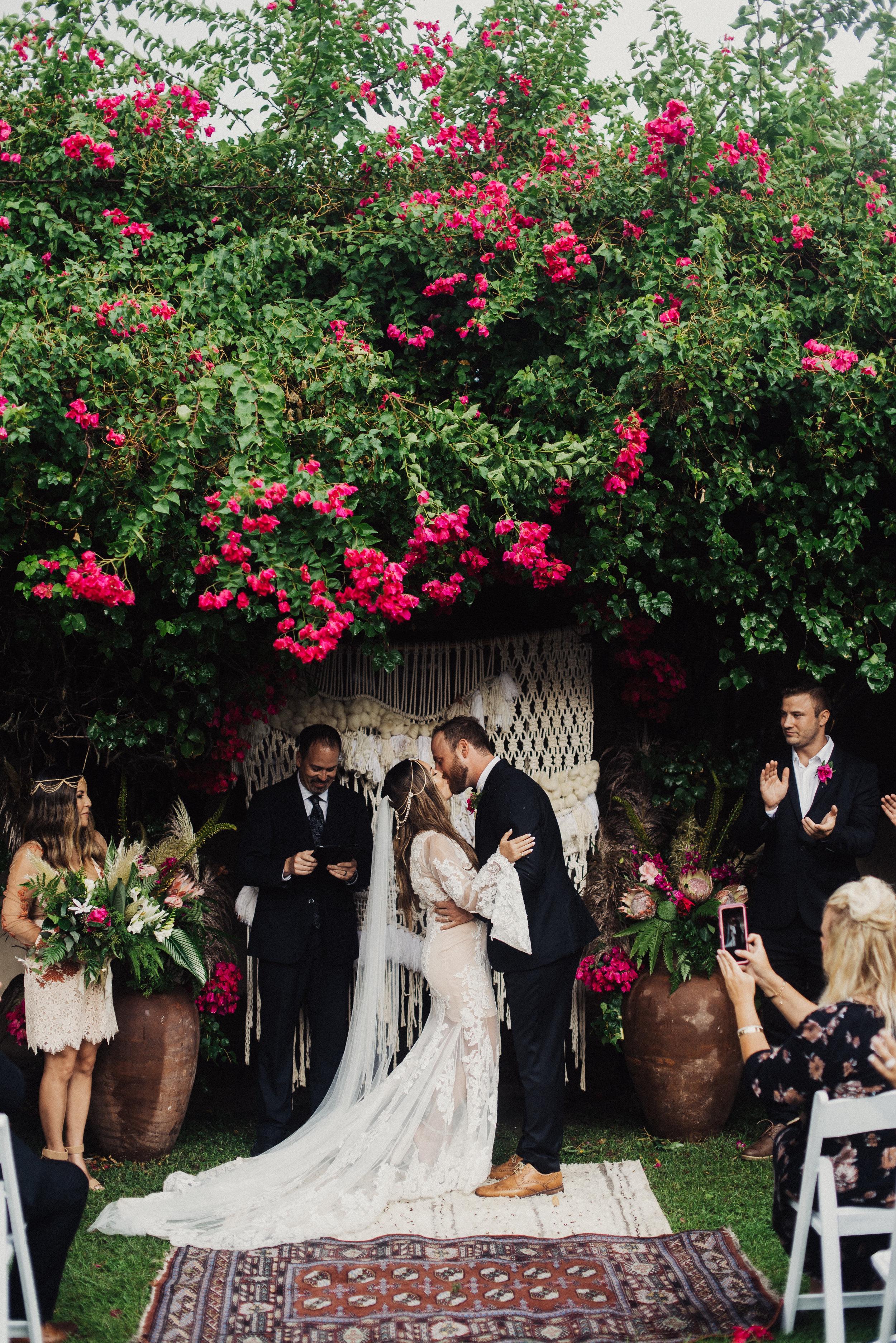 Palm Springs Moroccan Wedding