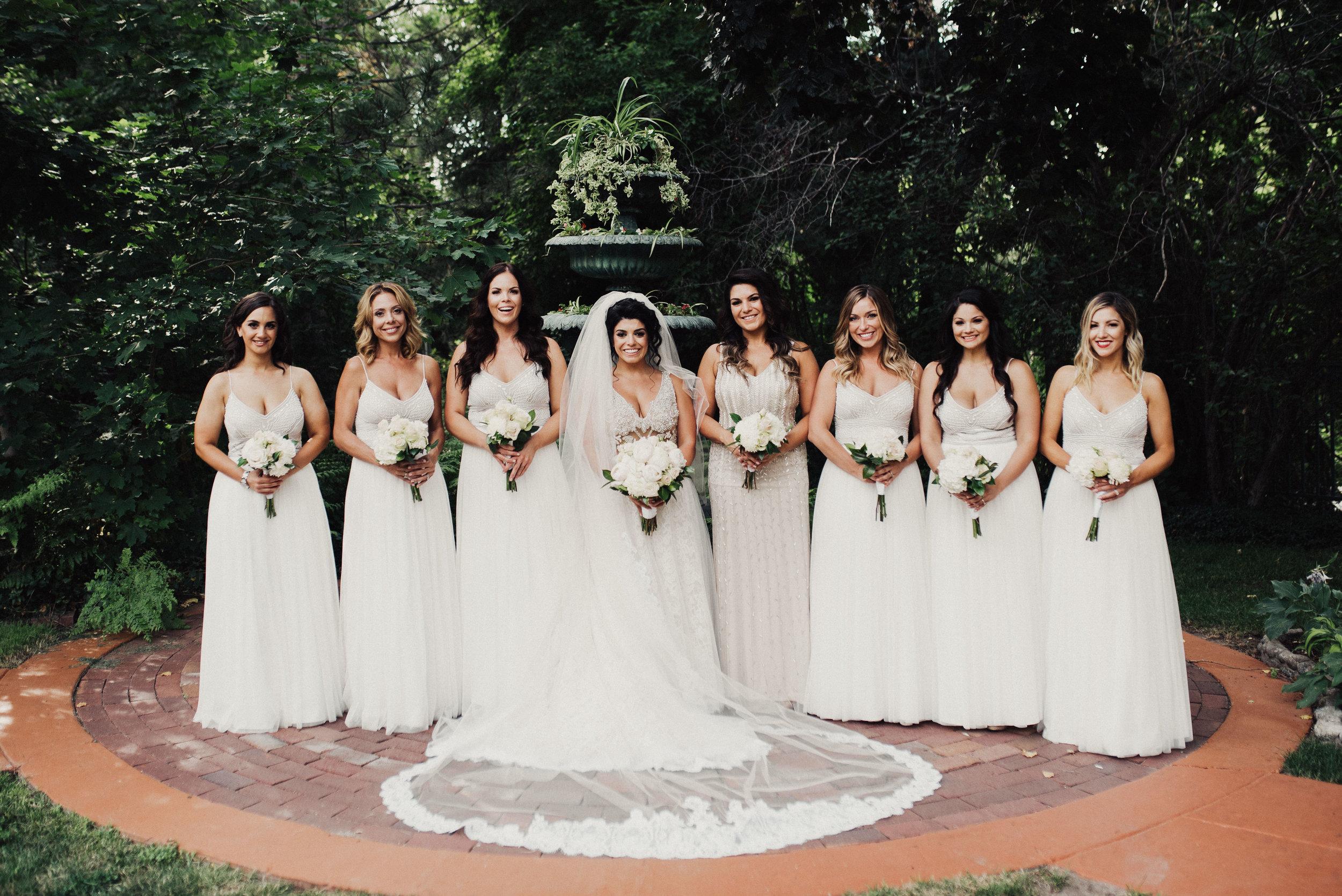 La Caille Wedding Bridesmaids