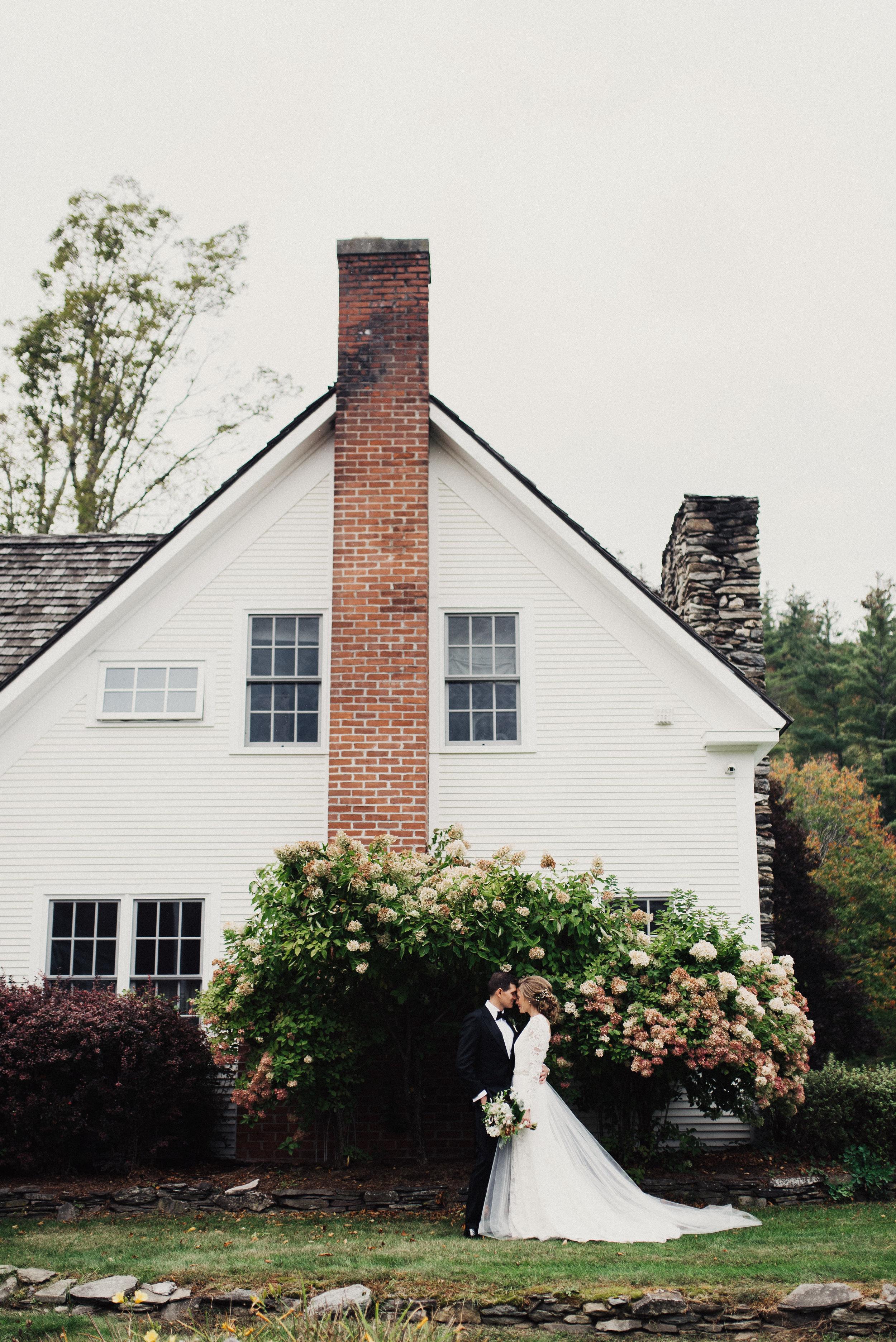 Pittsfield Vermont Rustic Wedding