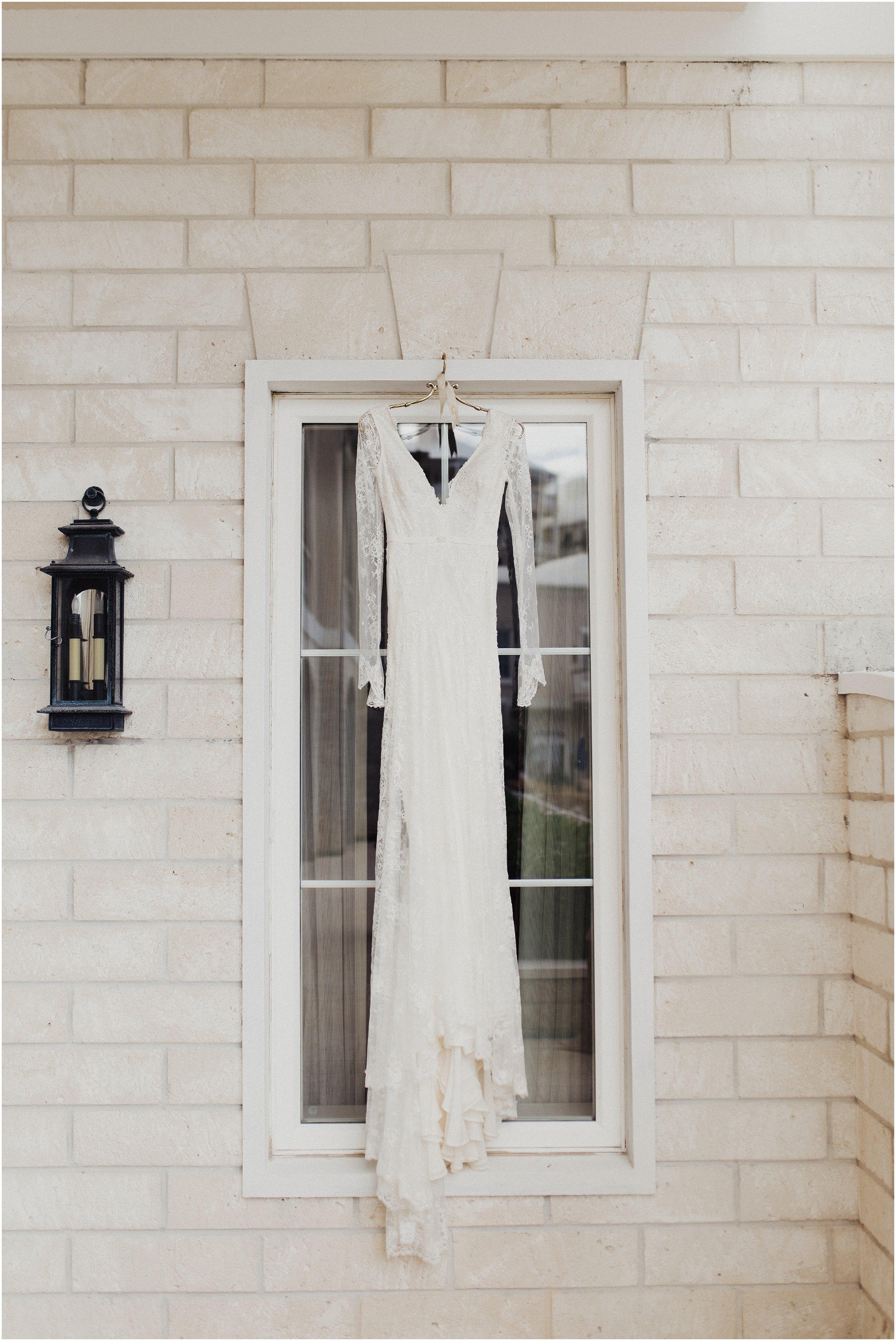 Eden Strader Dress Detail Shot