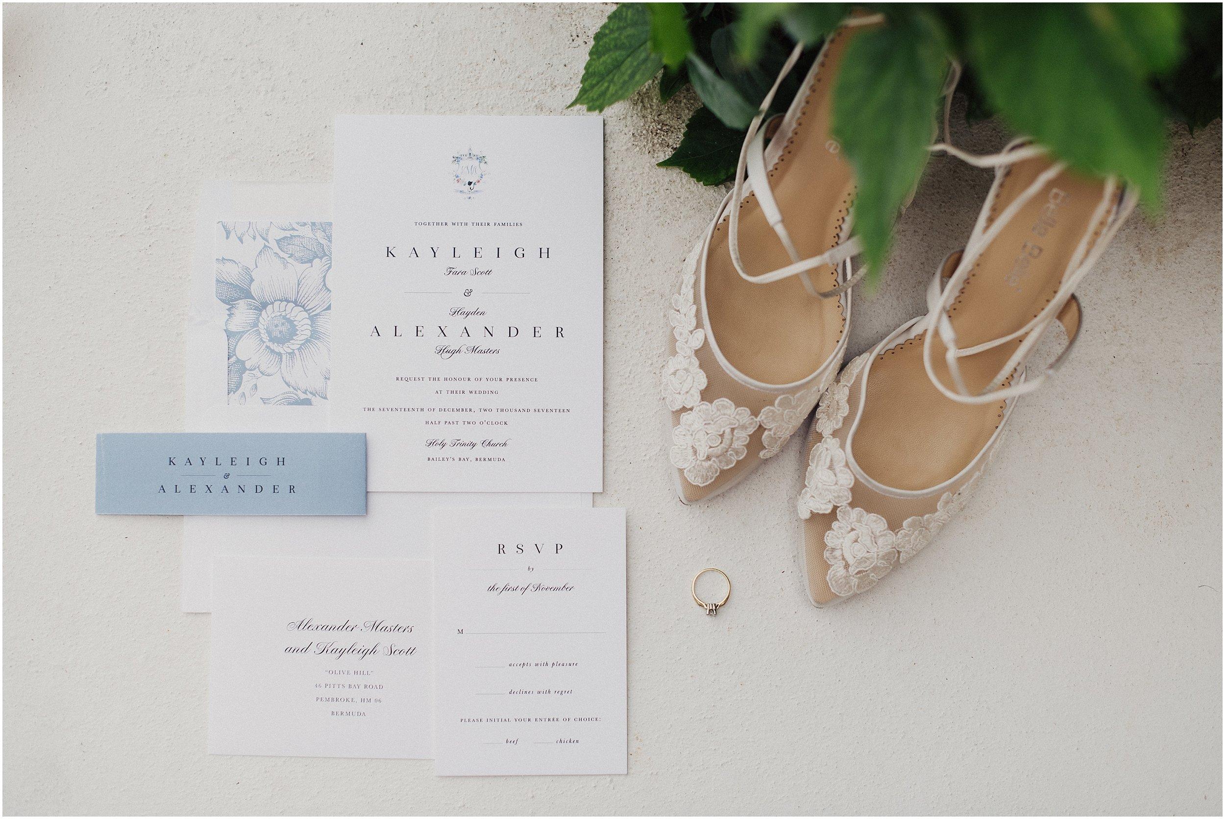 Bermuda wedding at Rosewood Tucker's Point