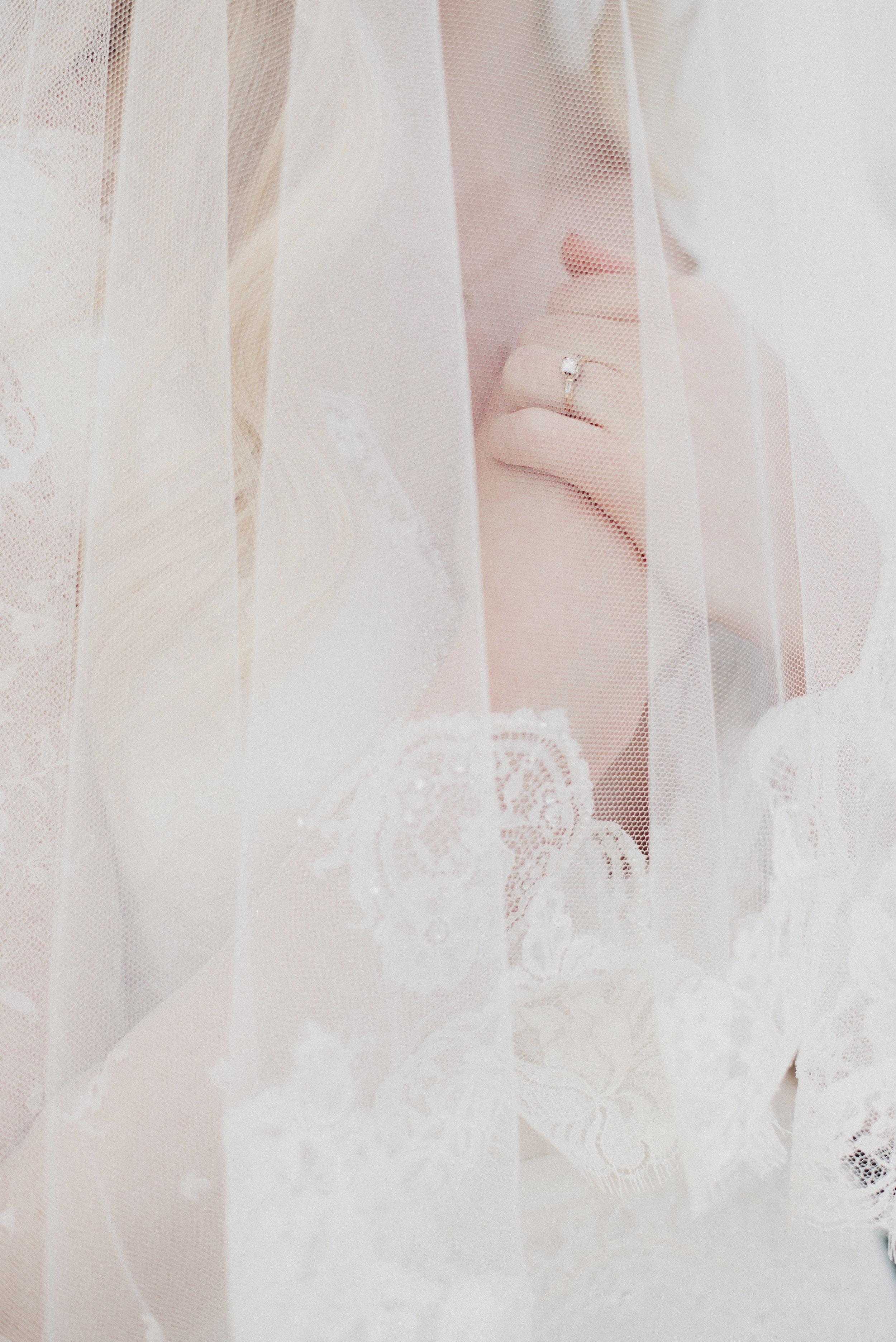 Veil wedding details