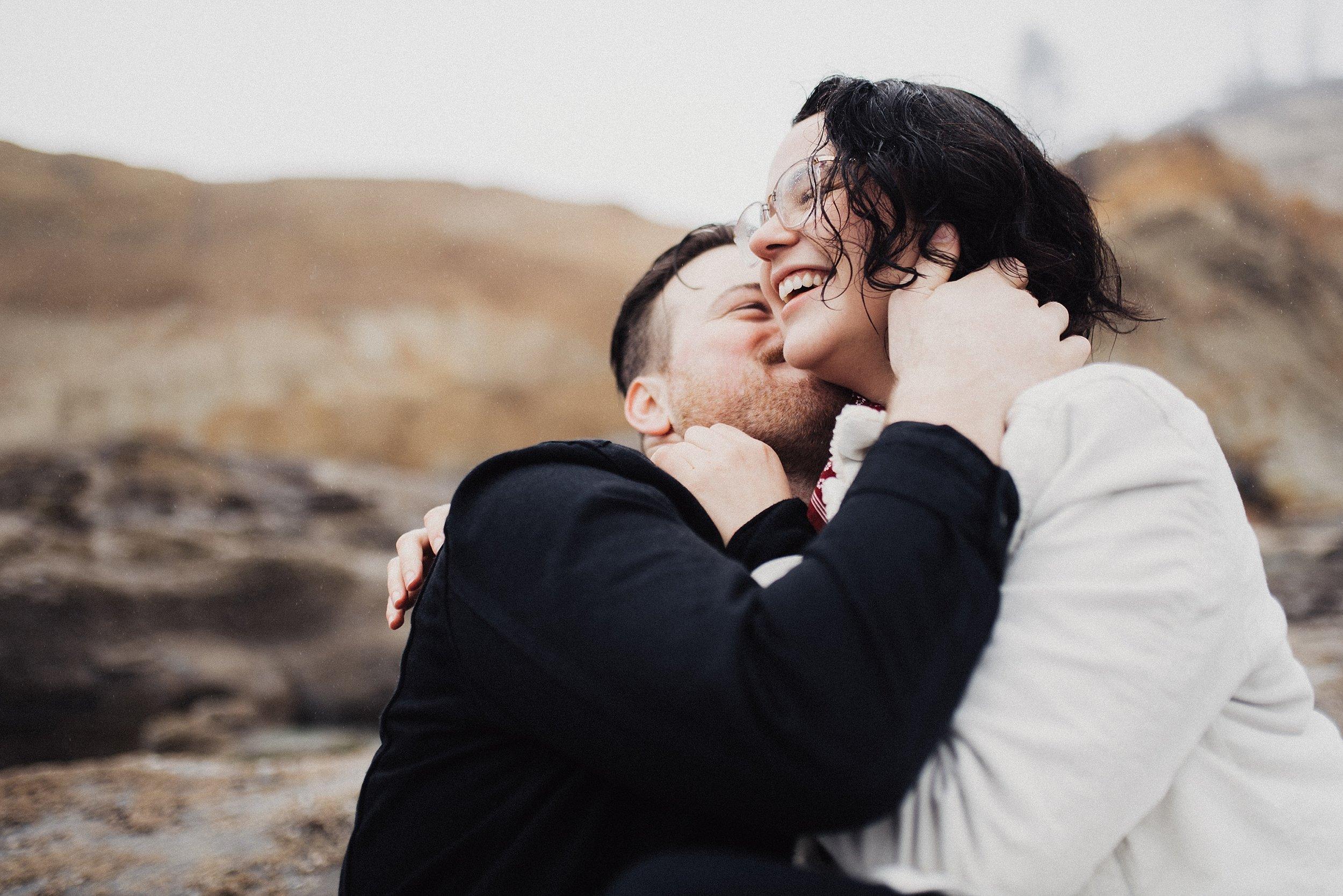 Couples Session at Cape Kiwanda Oregon