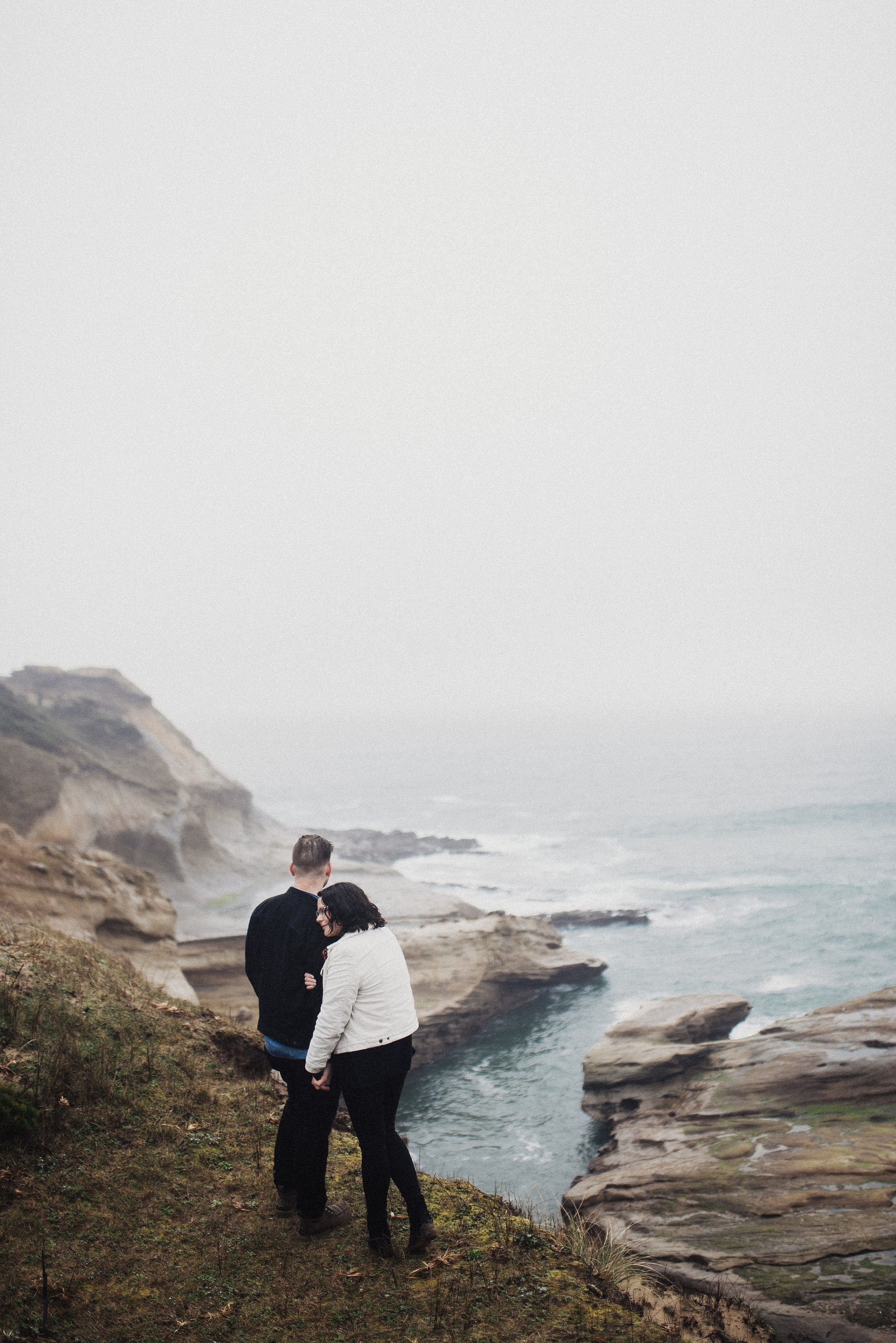 Rainy Engagements Eden Strader Photography