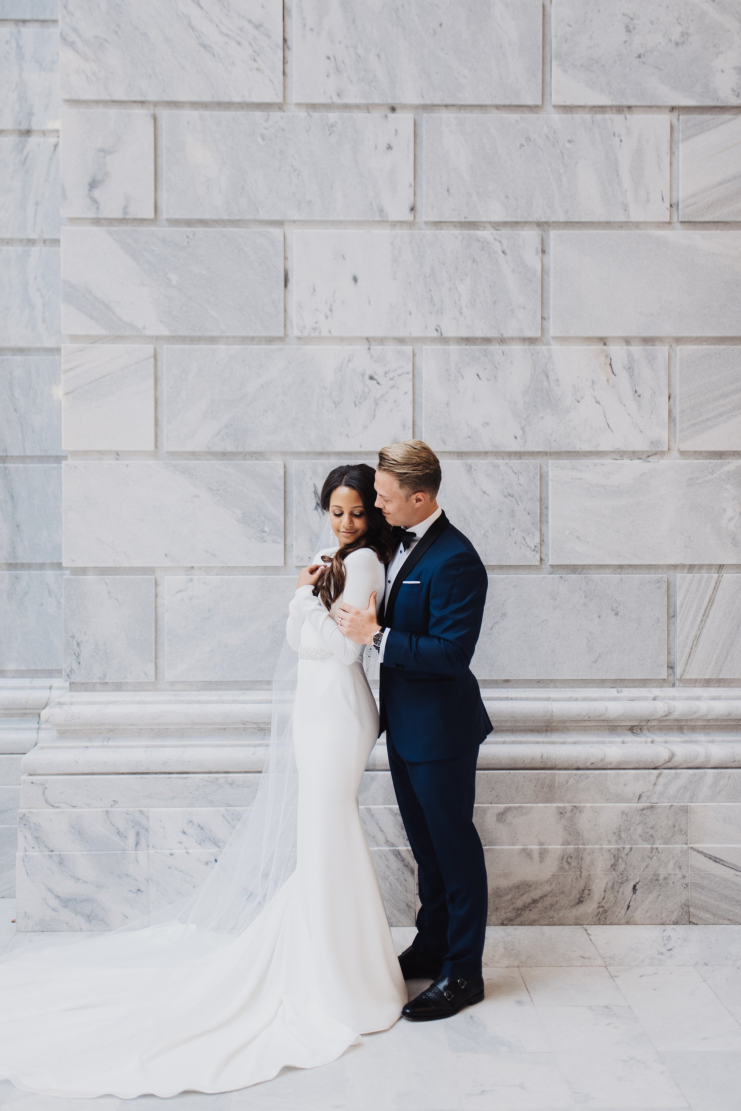 Eden Strader Utah State Capitol Bridals
