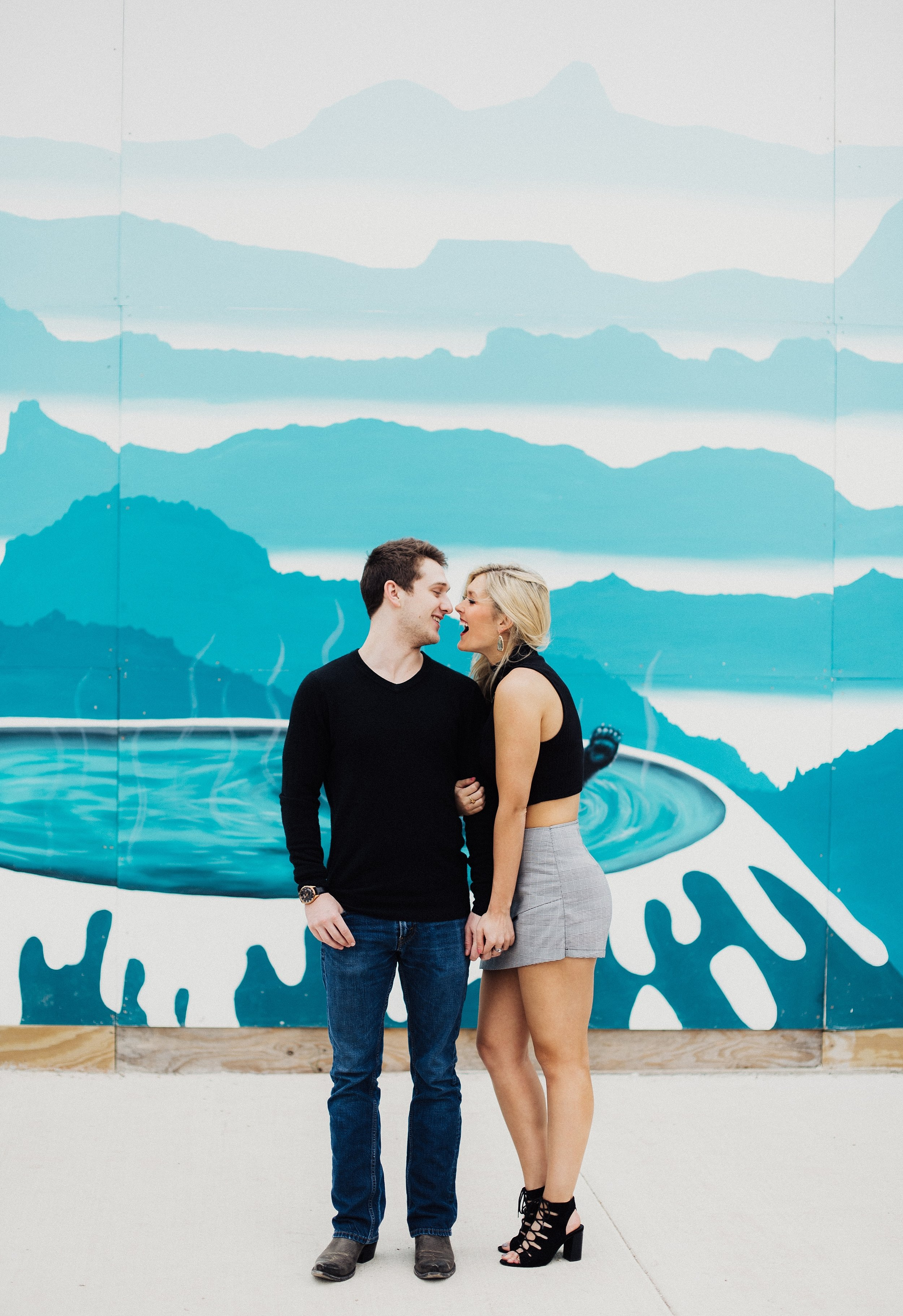 Downtown Dallas Engagement Sessions