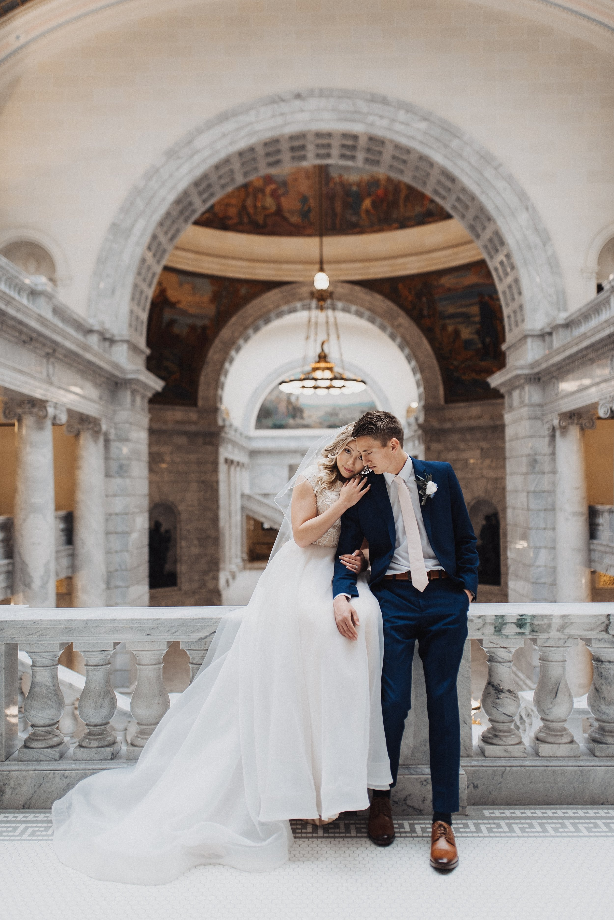 Utah State Capitol Bridals