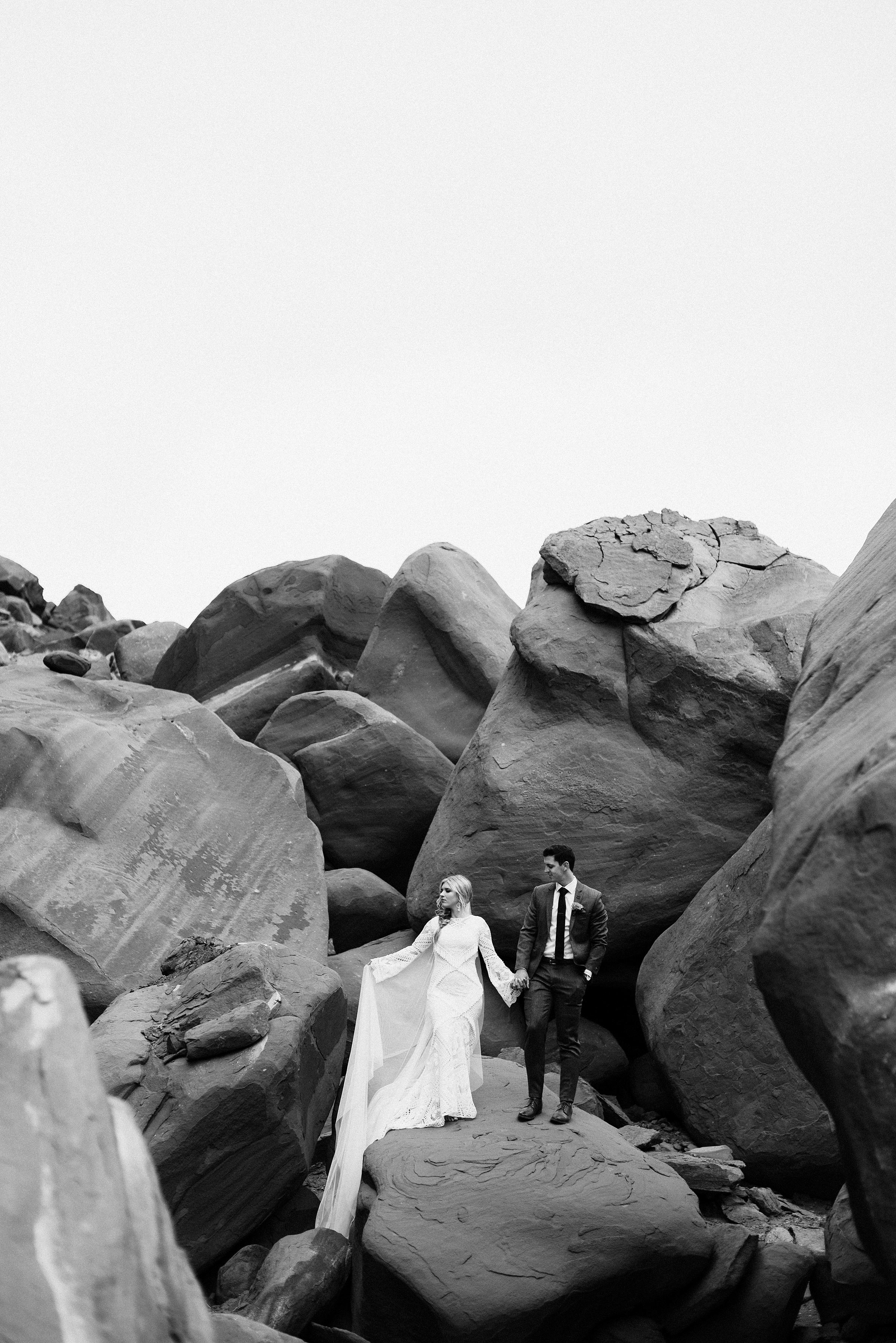 Dead Horse Point Bridal Session