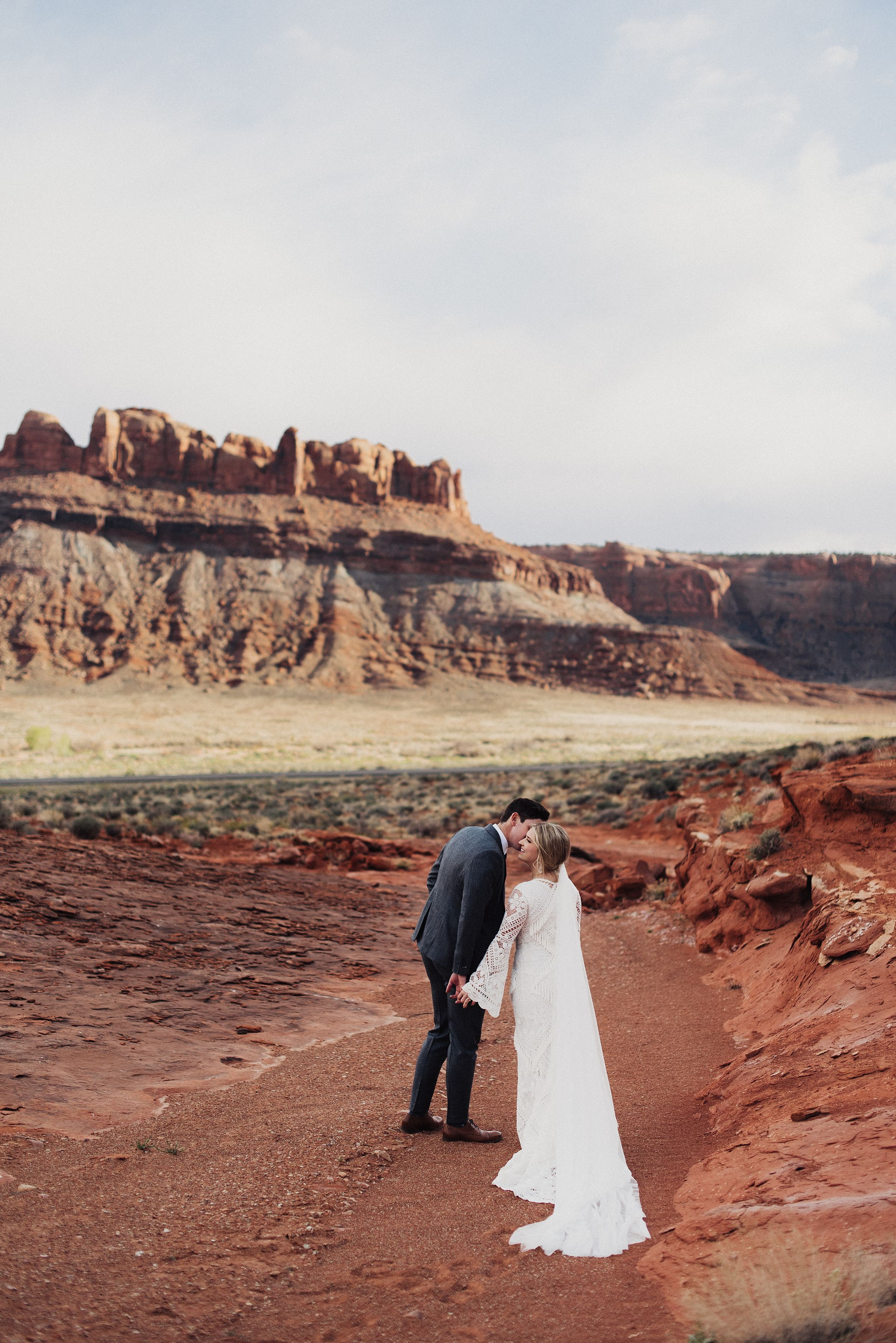 Dead Horse Point Red Rock Wedding