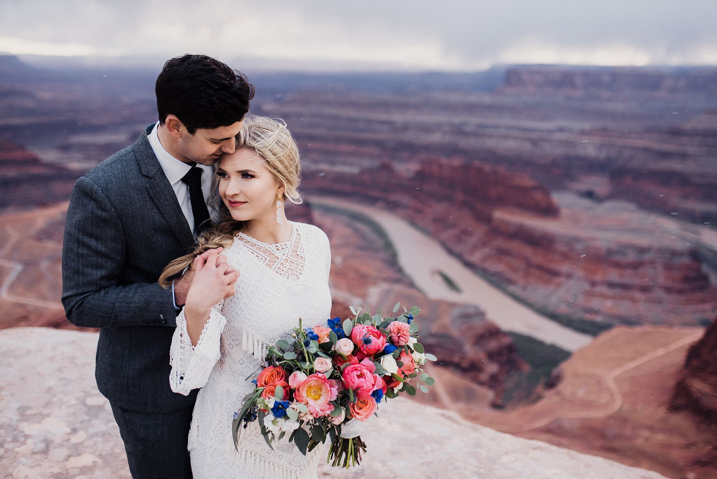 Bridals at Dead Horse Point