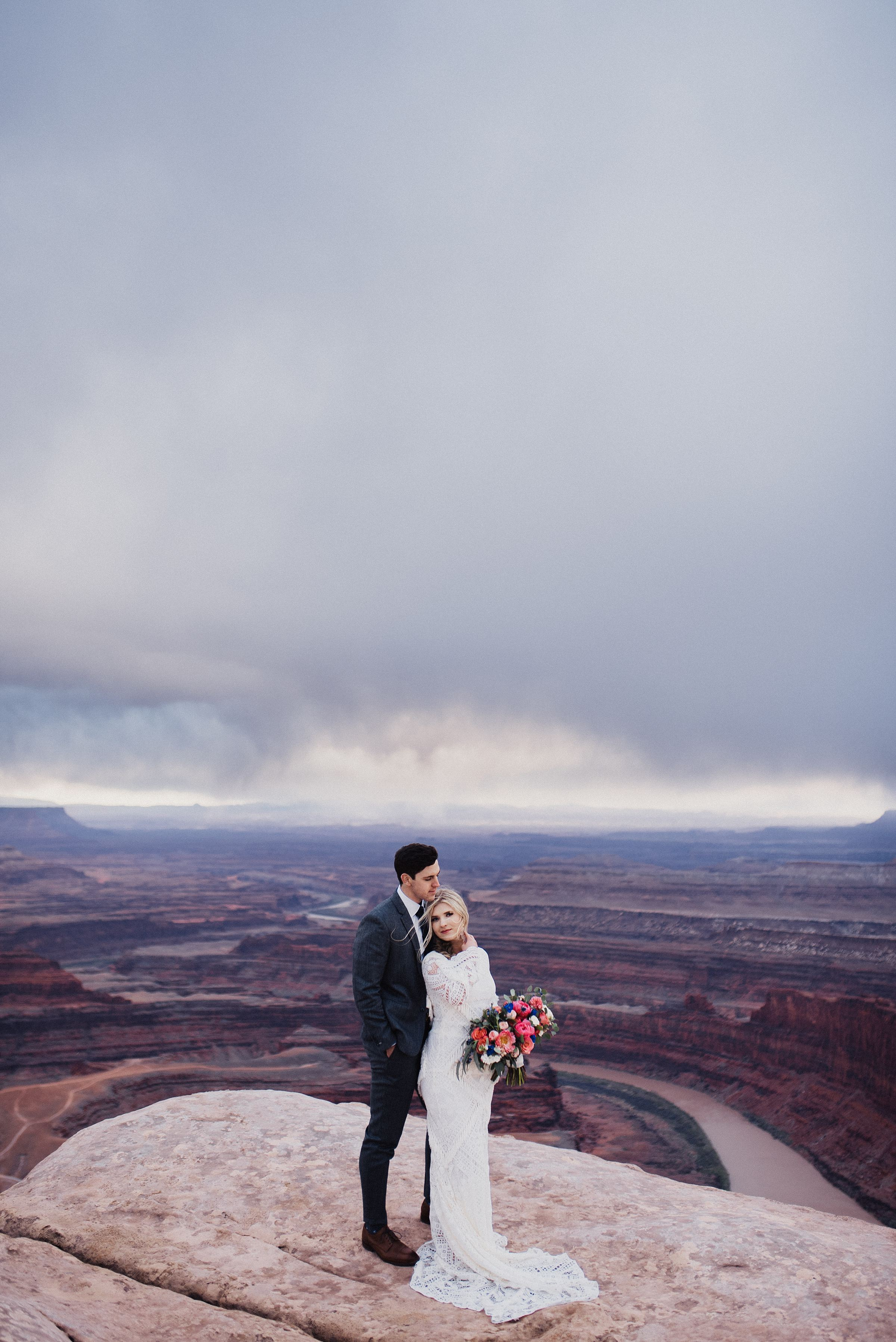 Dead Horse Point Red Rock Bridals