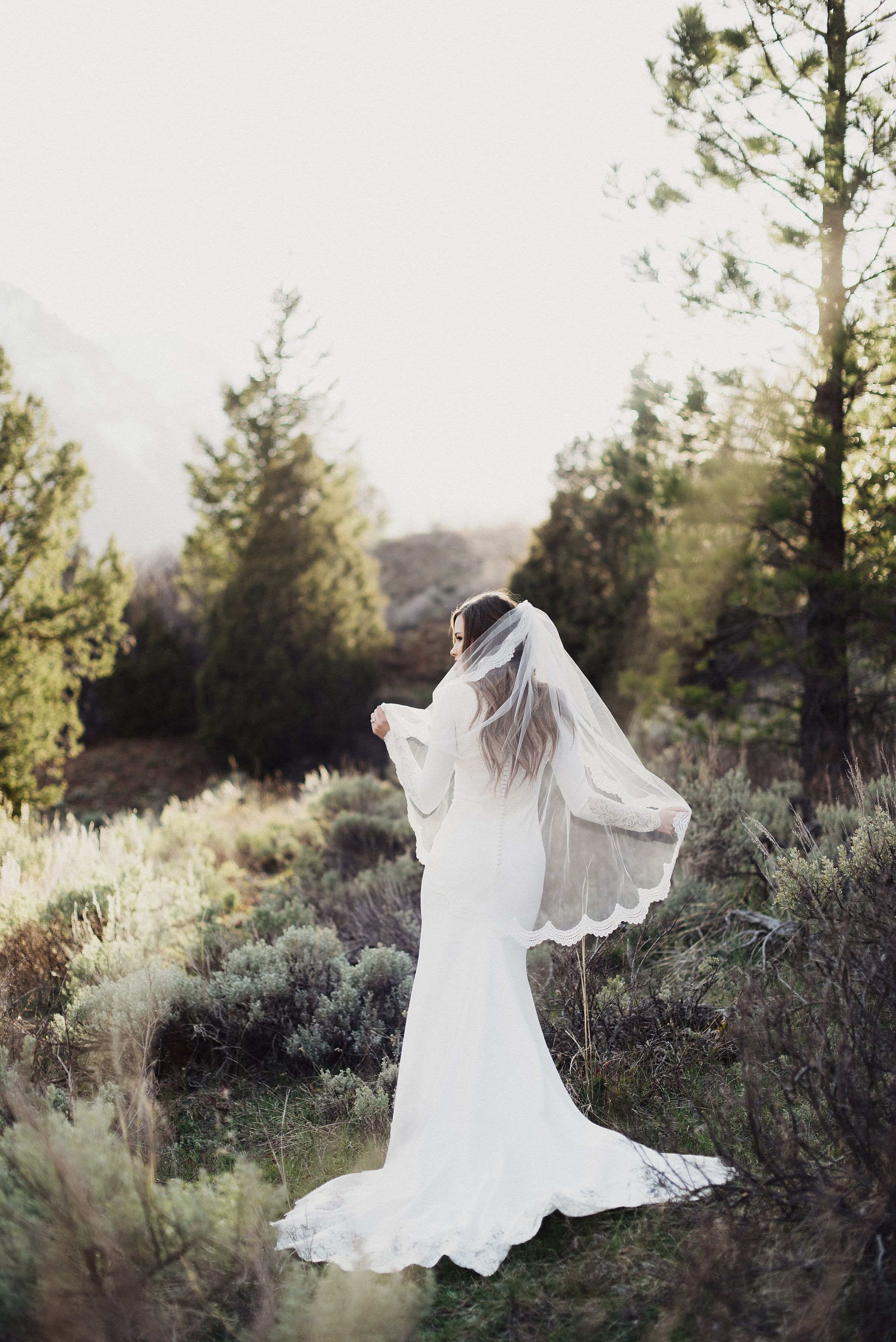 American Fork Canyon Tibble Fork Wedding Bridals