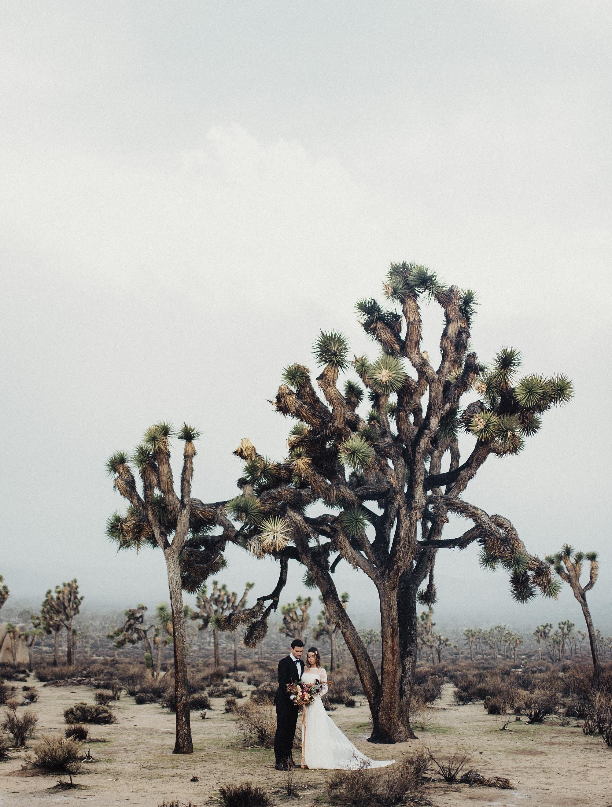 Boho California Desert Wedding