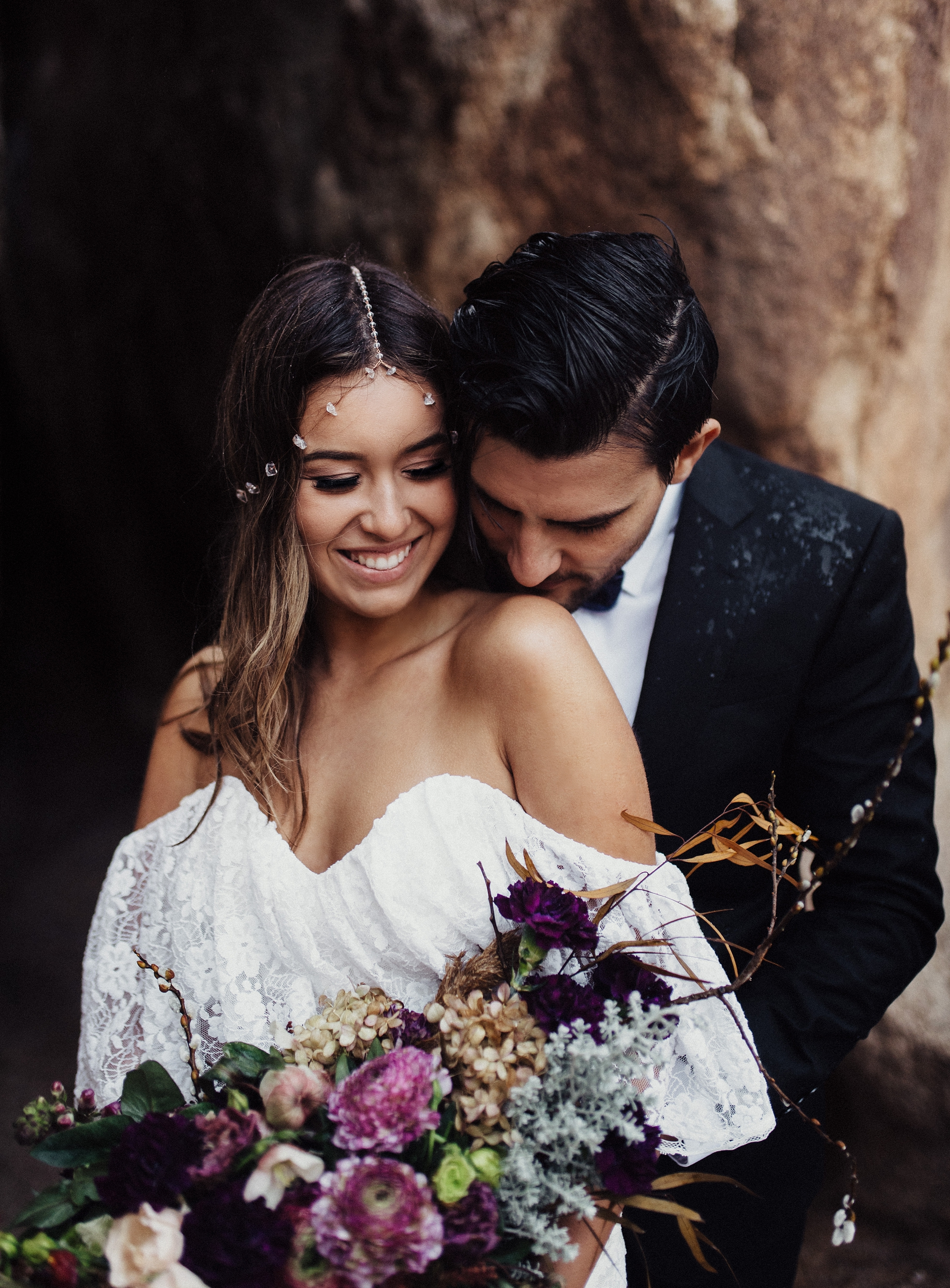 Dreamers and Lovers lace wedding dress