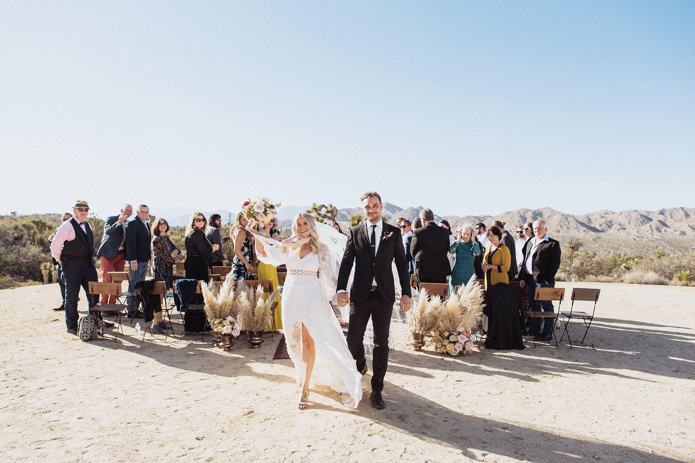 boho wedding at cactus moon retreat