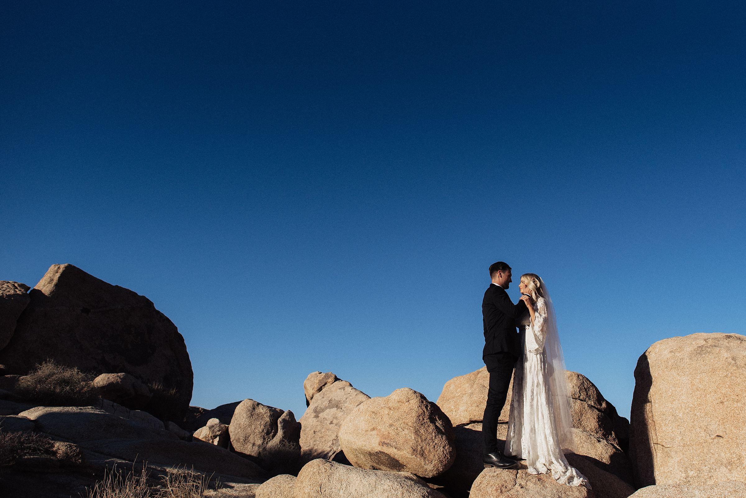 joshua tree wedding at cactus moon retreat