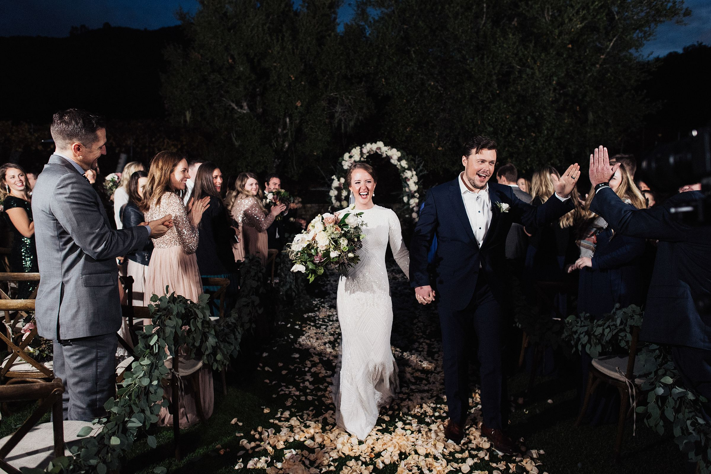 carmel valley ranch wedding ceremony