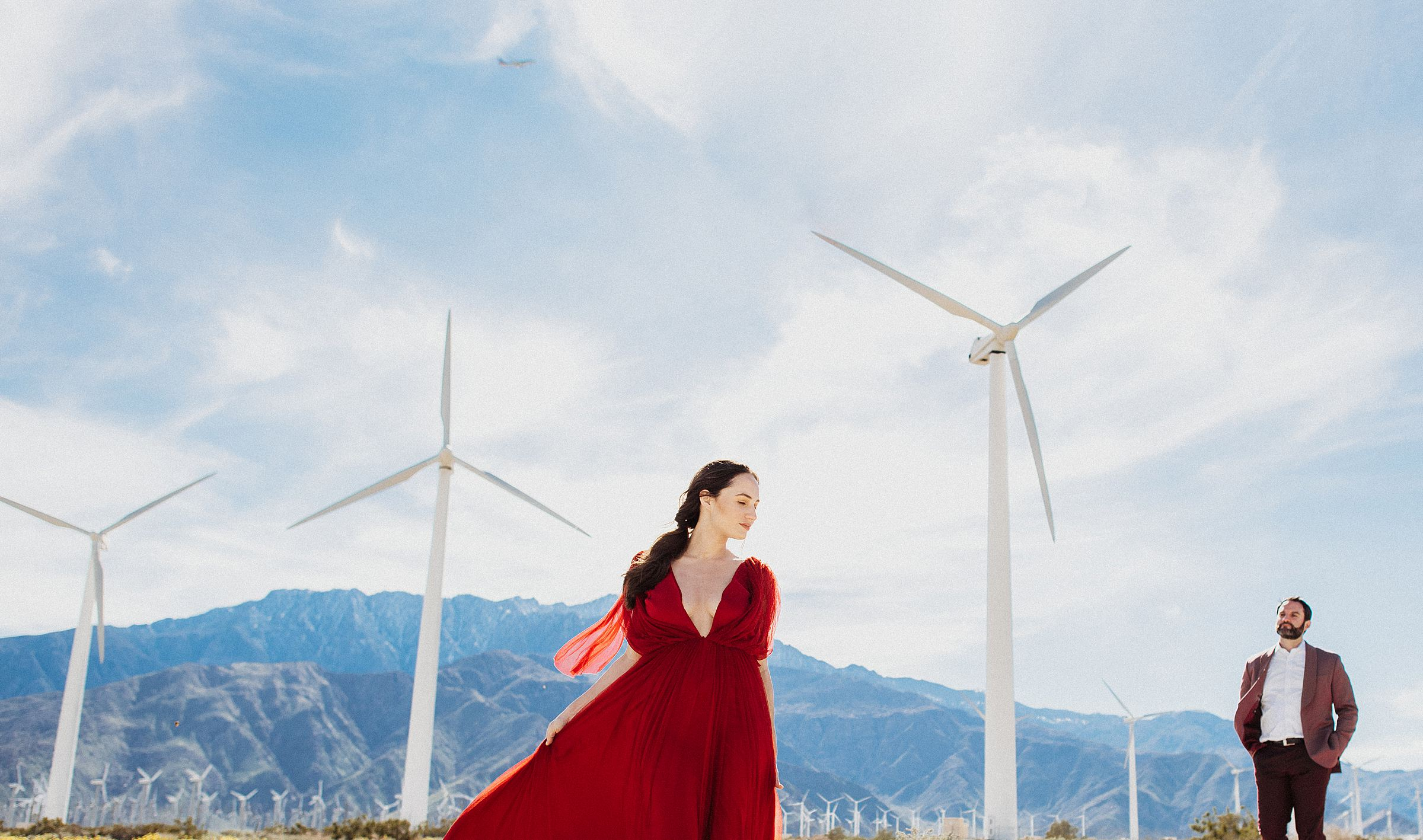 palm springs windmills engagements