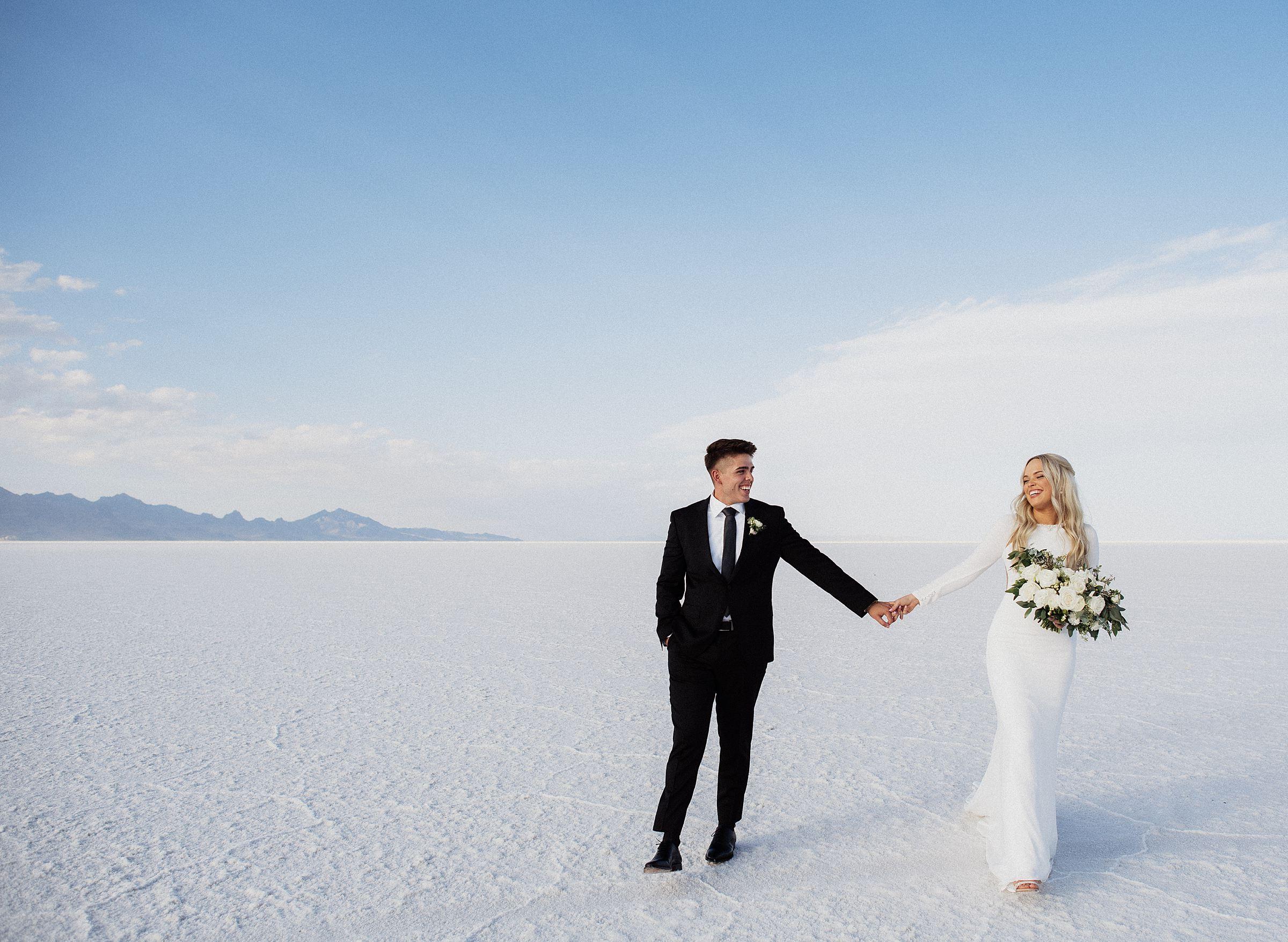 bonneville salt flats bridals