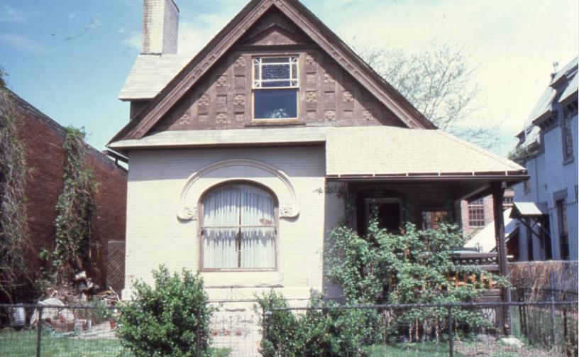 2521 Champa St. in 1984