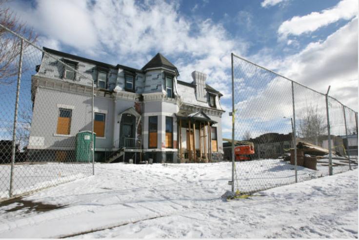 2601 Champa St. in 2009